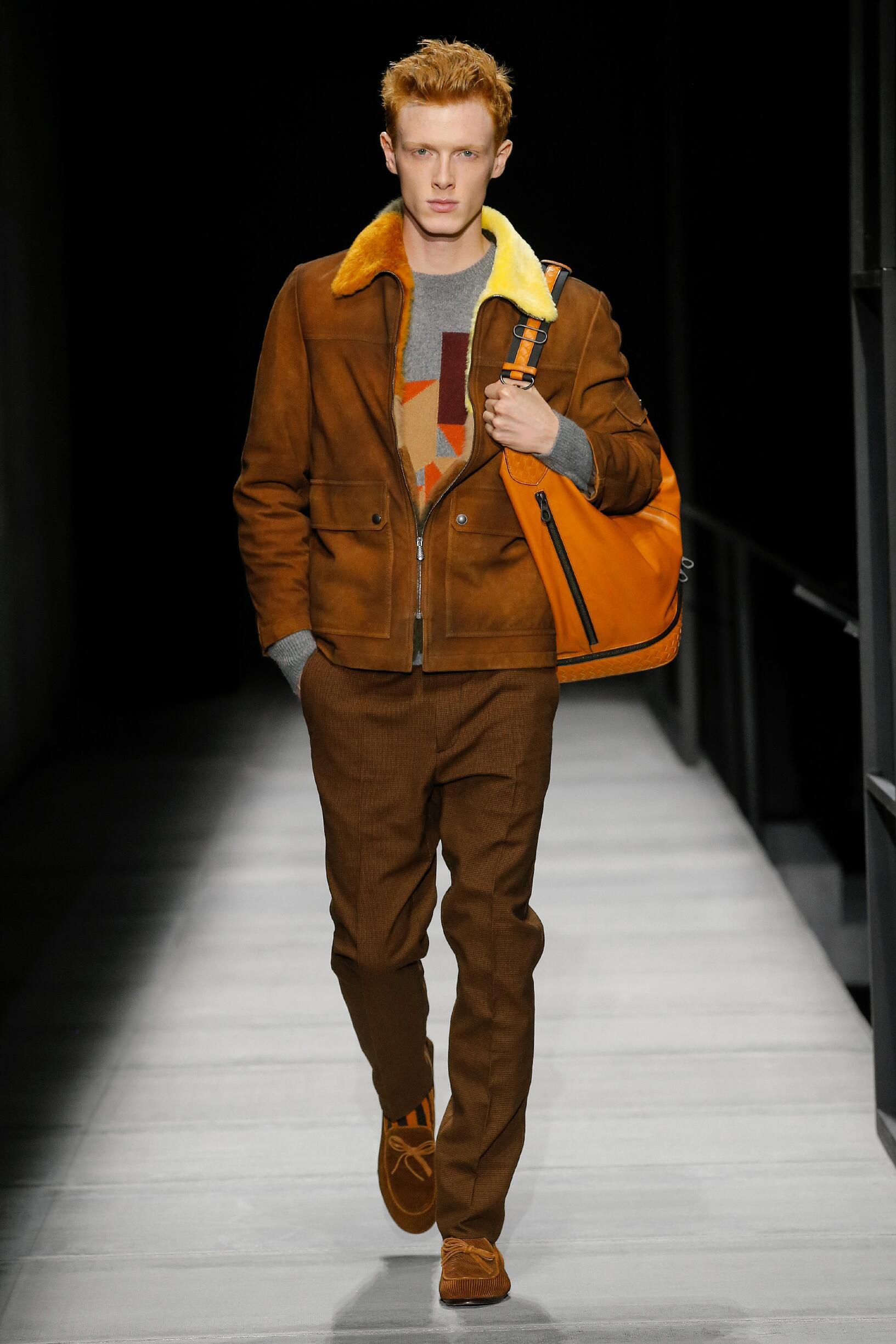 Winter 2018 Man Trends Bottega Veneta