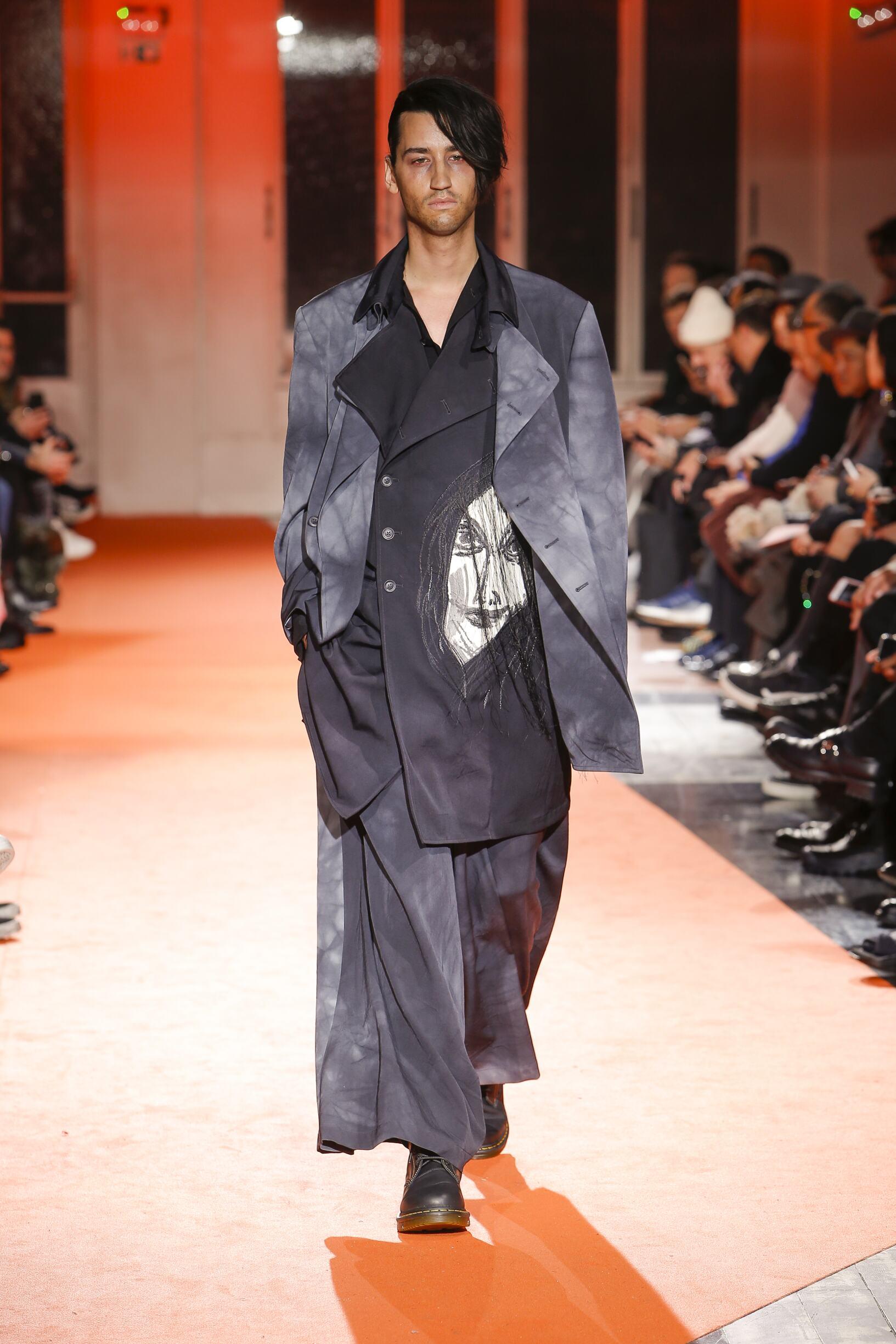 Winter 2018 Man Trends Yohji Yamamoto