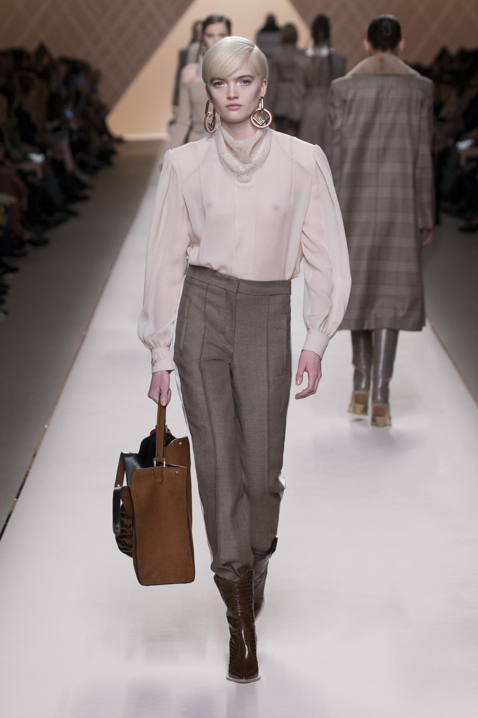 Winter 2018 Woman Trends Fendi