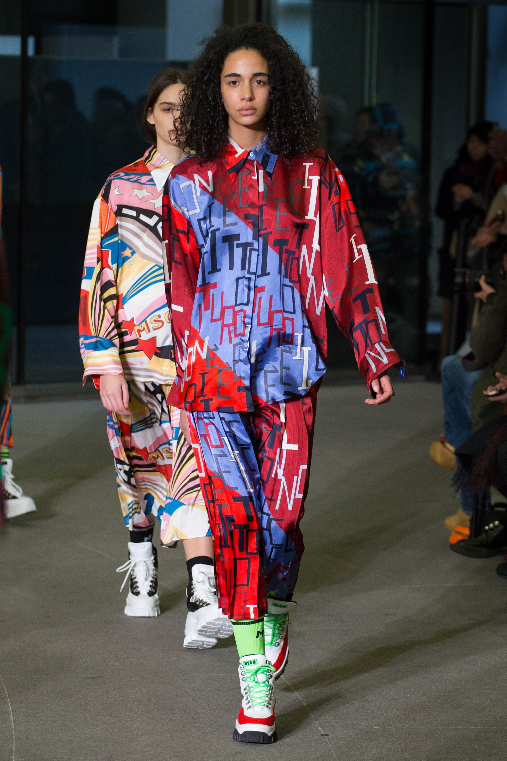Woman FW 2018-19 Msgm Fashion Show Milan