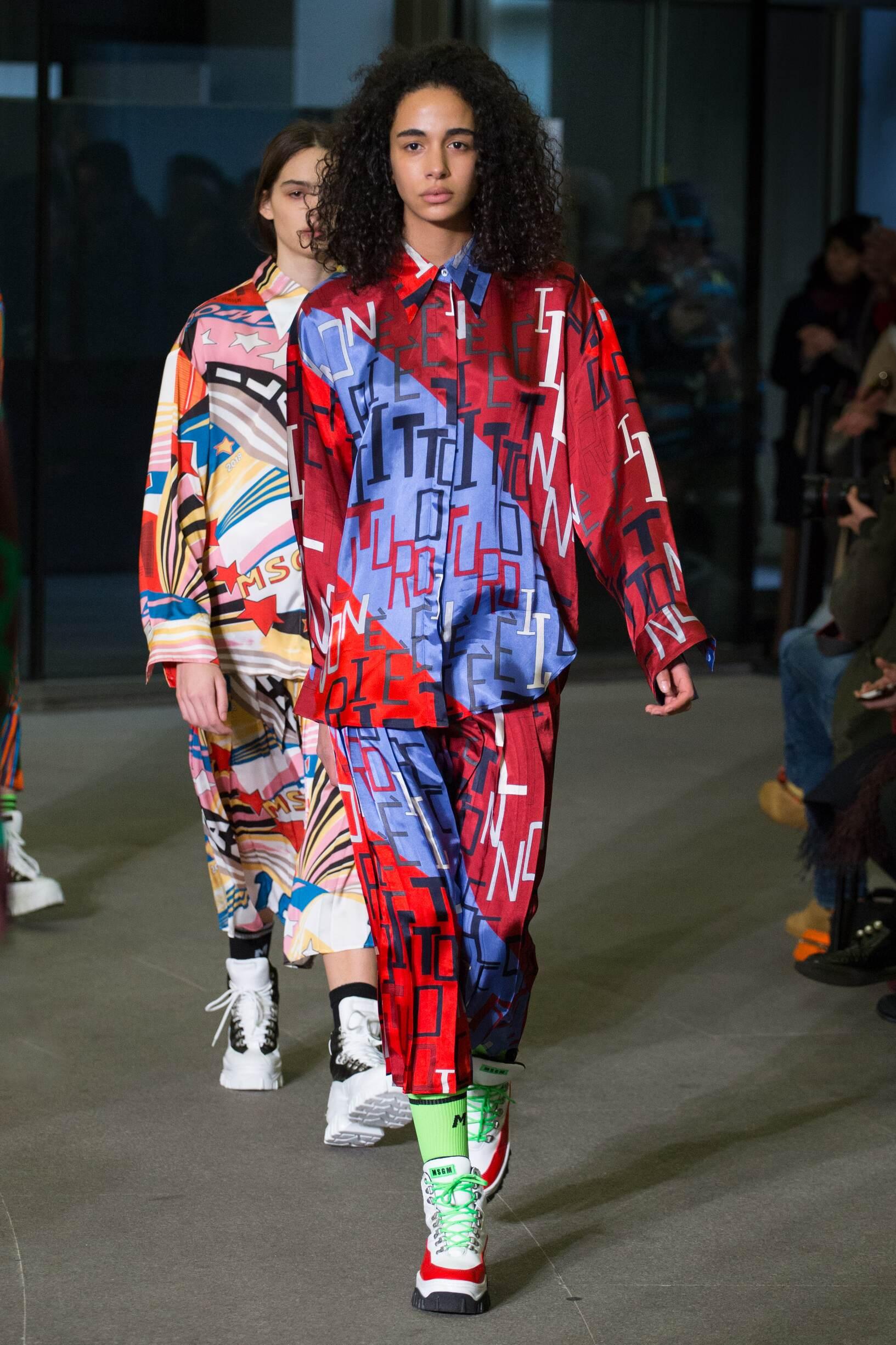 Woman FW 2018-19 Msgm Fashion Show Milan