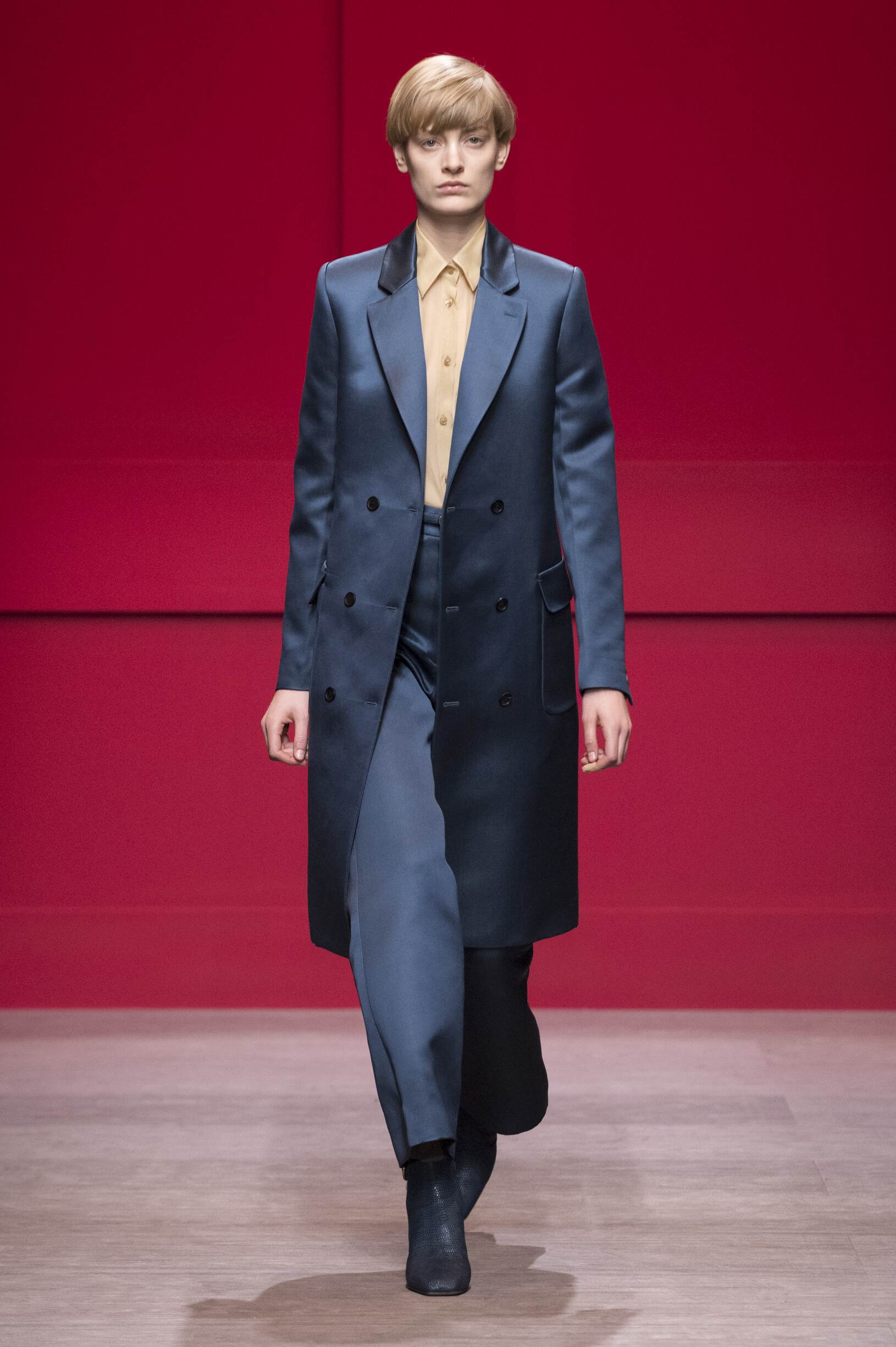 Woman FW 2018-19 Salvatore Ferragamo Fashion Show Milan