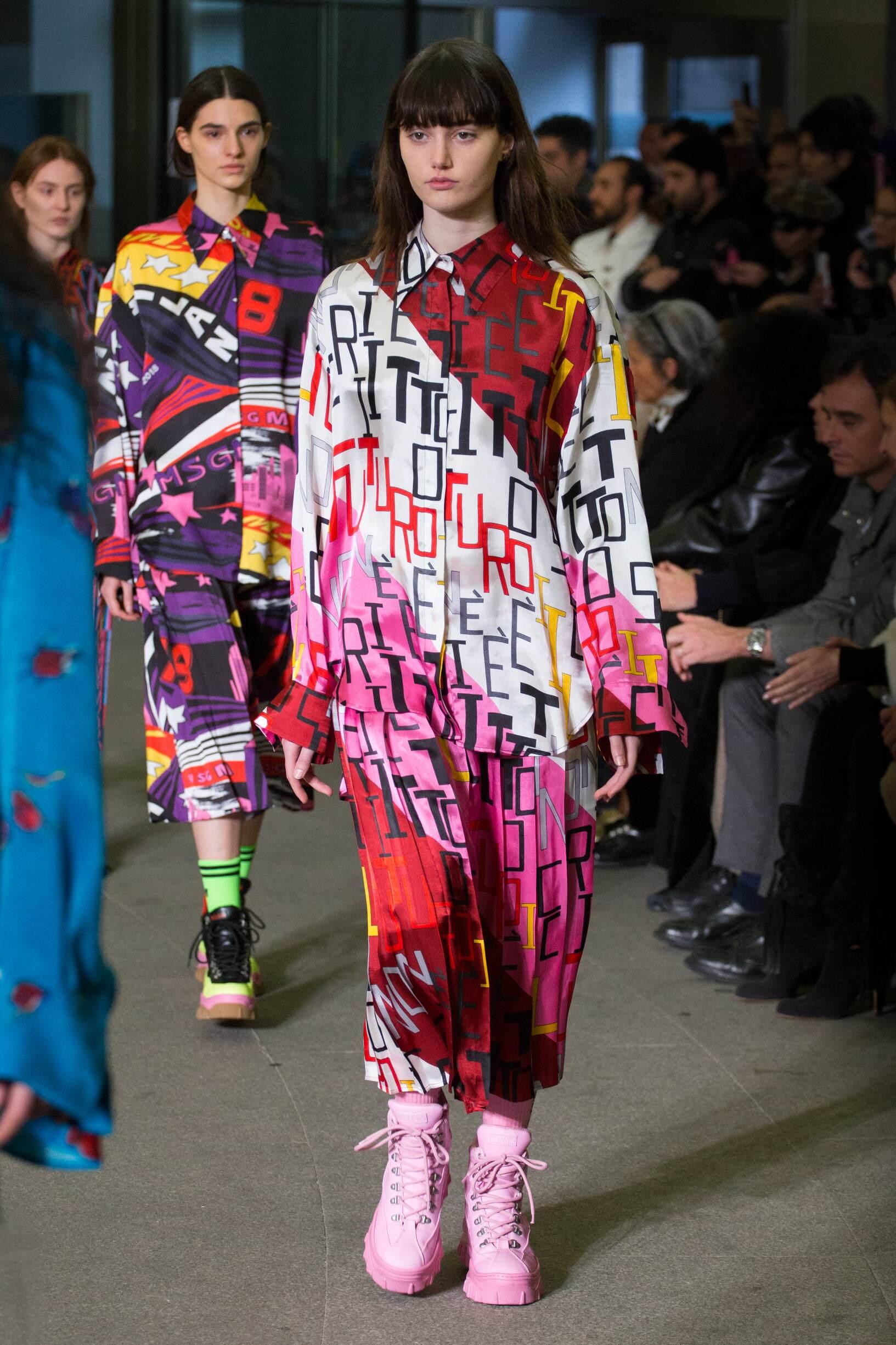 Womenswear Colors Msgm 2018