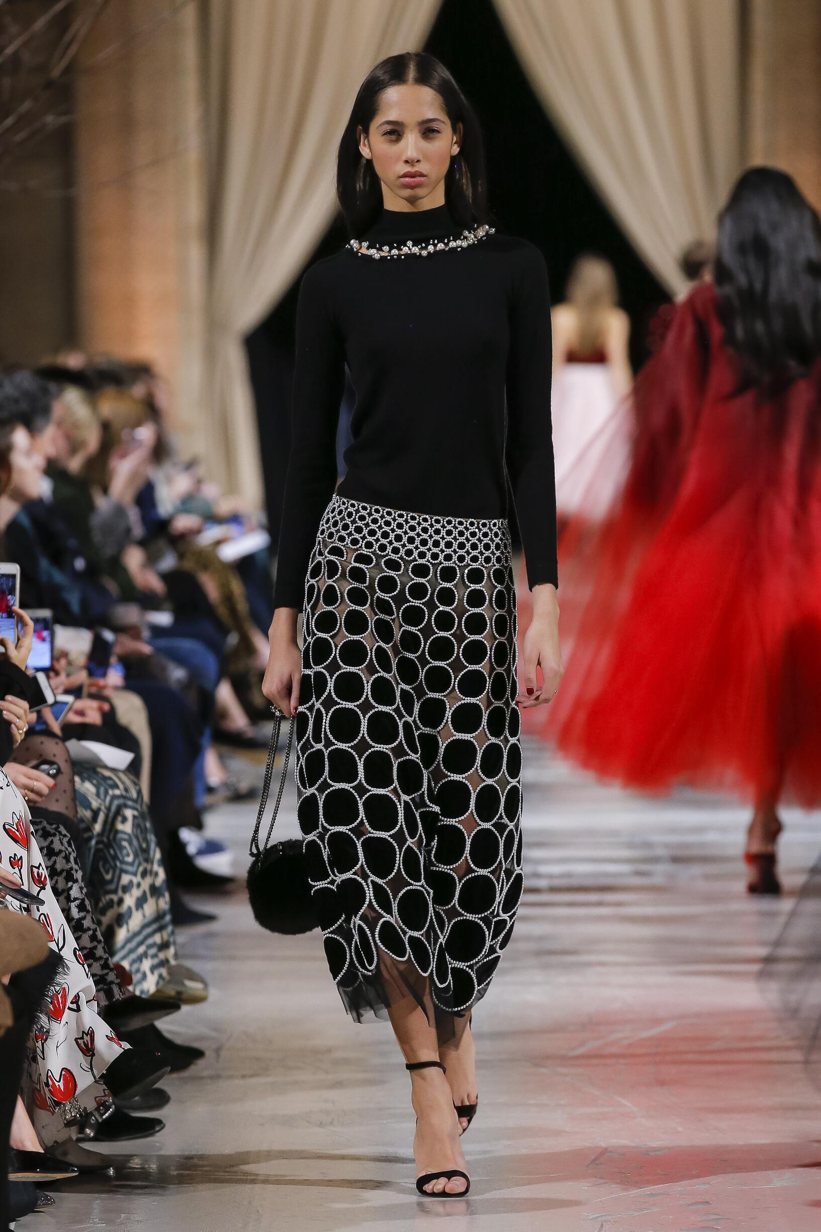 Womenswear FW Oscar de la Renta 2018