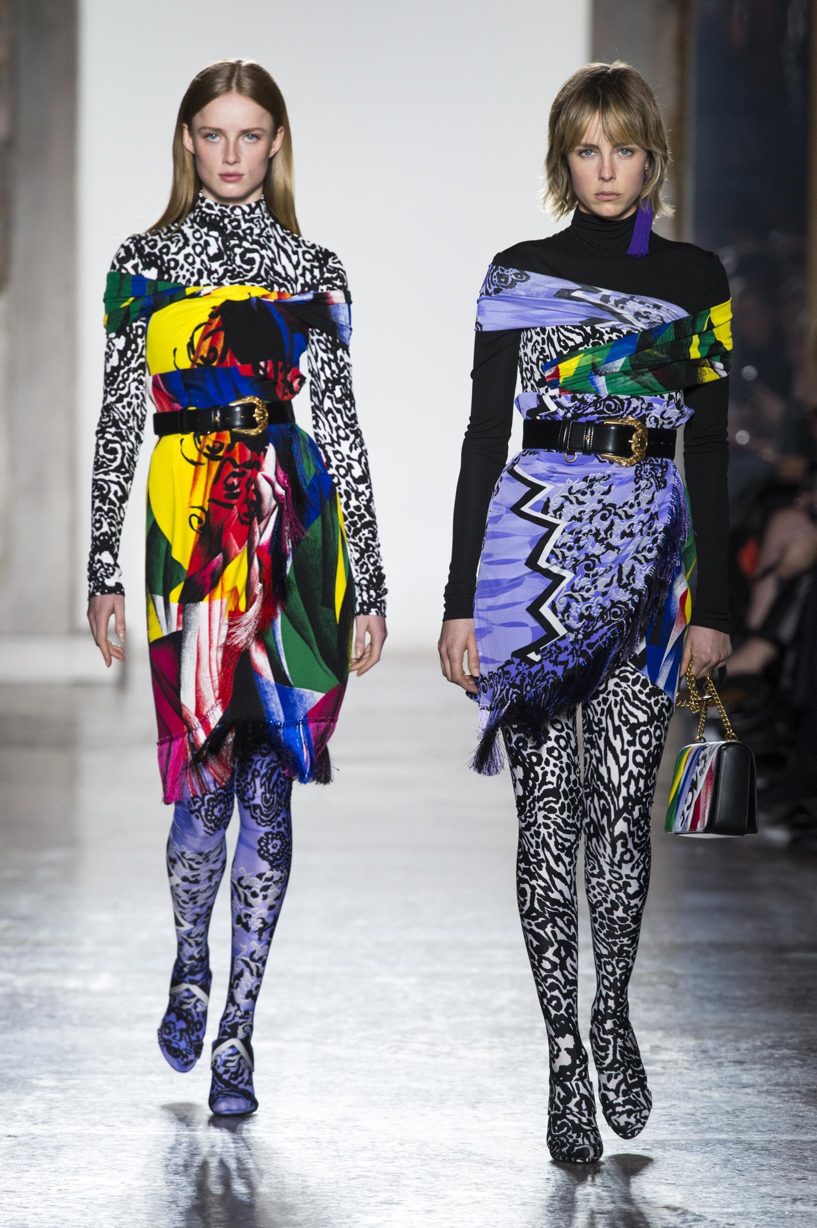 Womenswear Fashion Show Versace