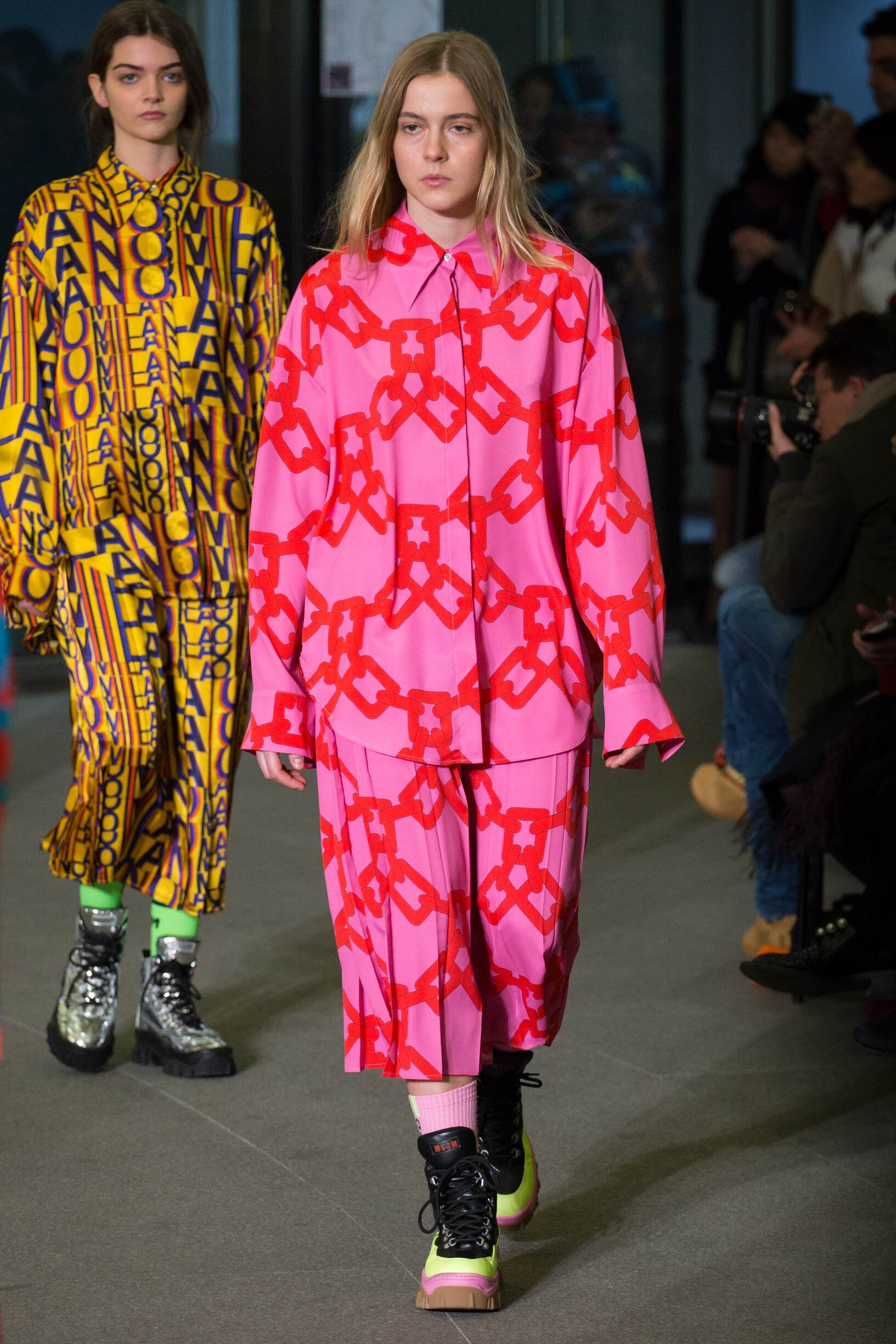 Womenswear Runway Fashion Show Msgm