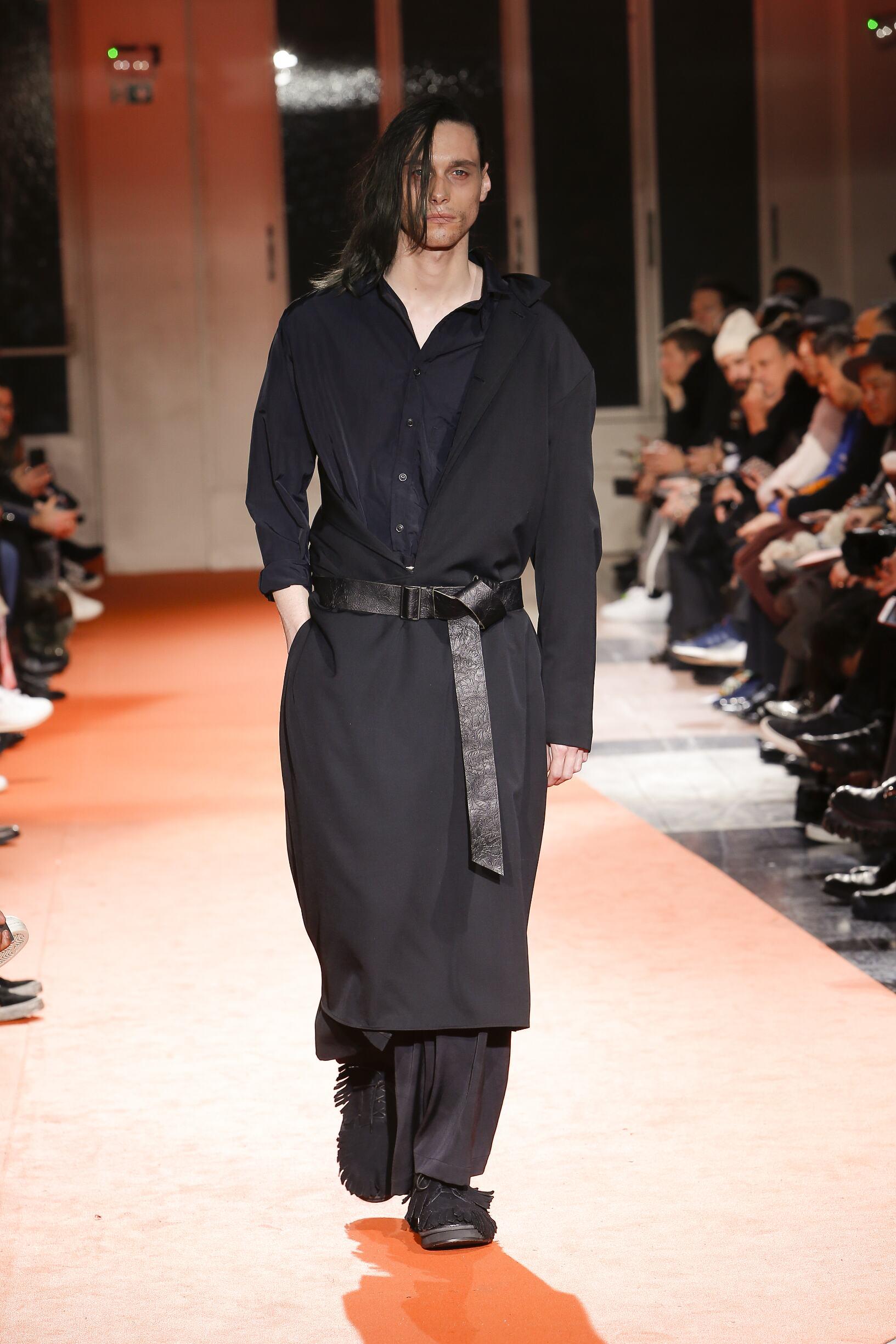 Yohji Yamamoto FW 2018 Menswear