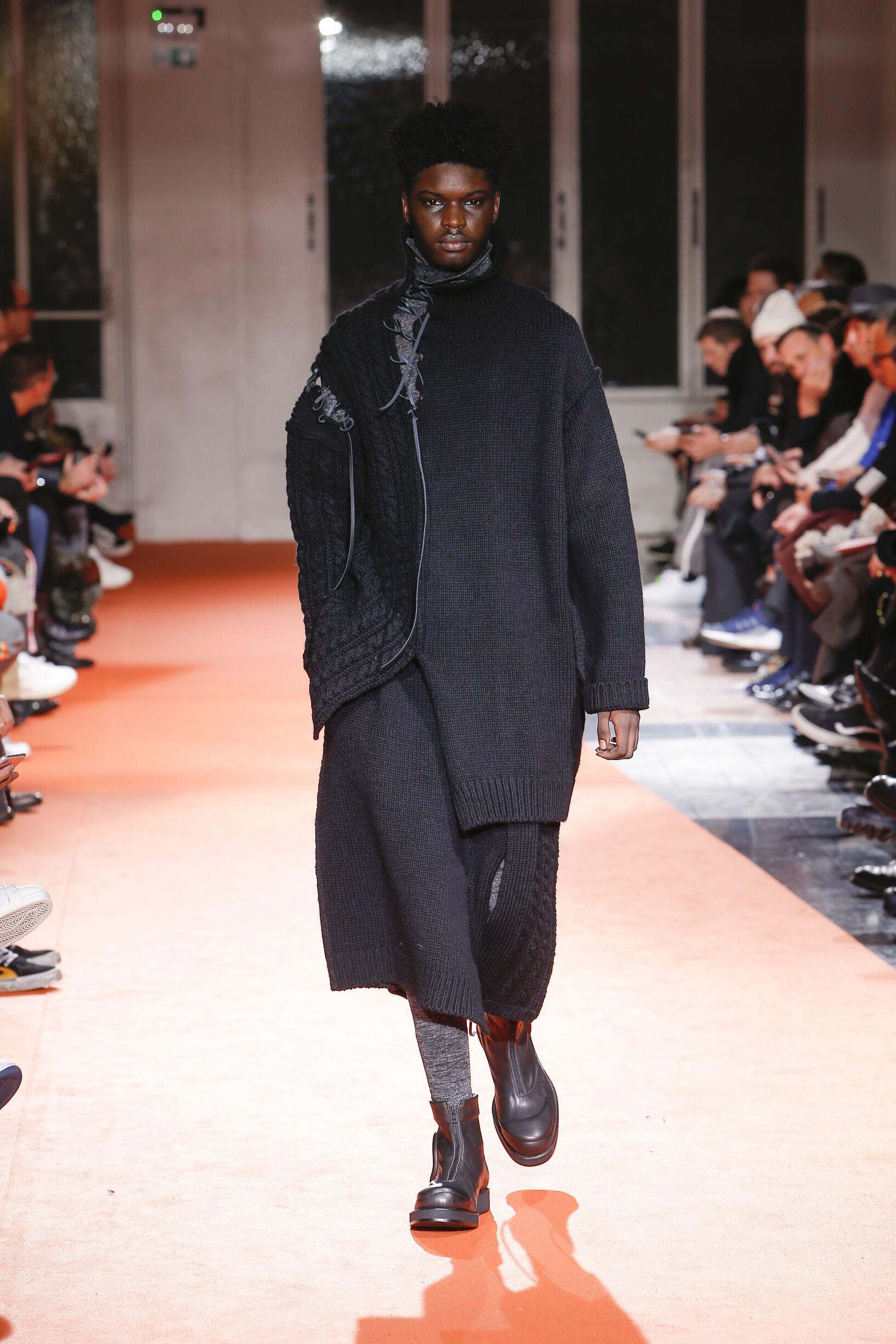 Yohji Yamamoto Fall Winter 2018
