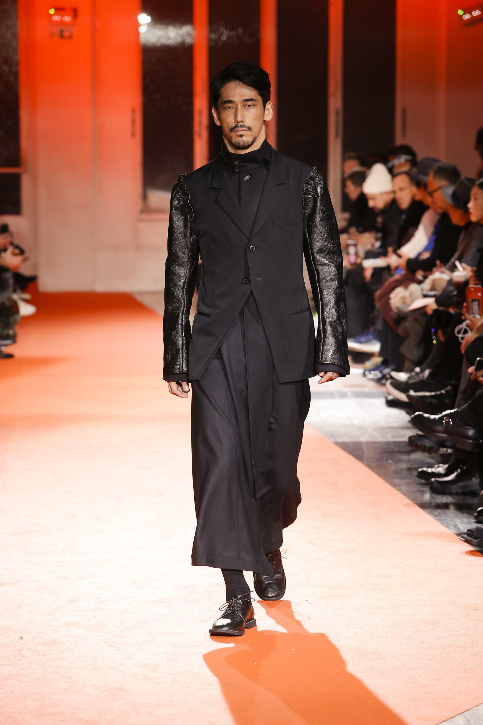 Yohji Yamamoto Man Style 2018