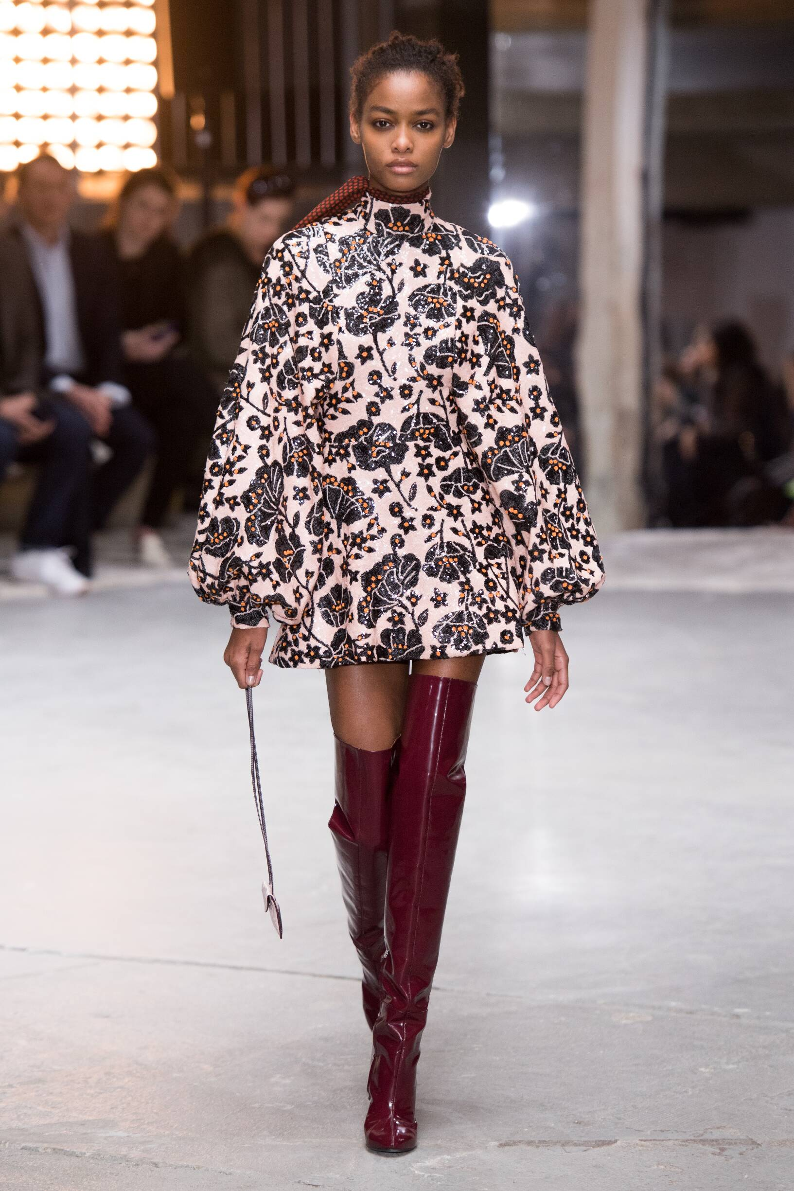2018 Catwalk Giambattista Valli Woman Fashion Show Winter