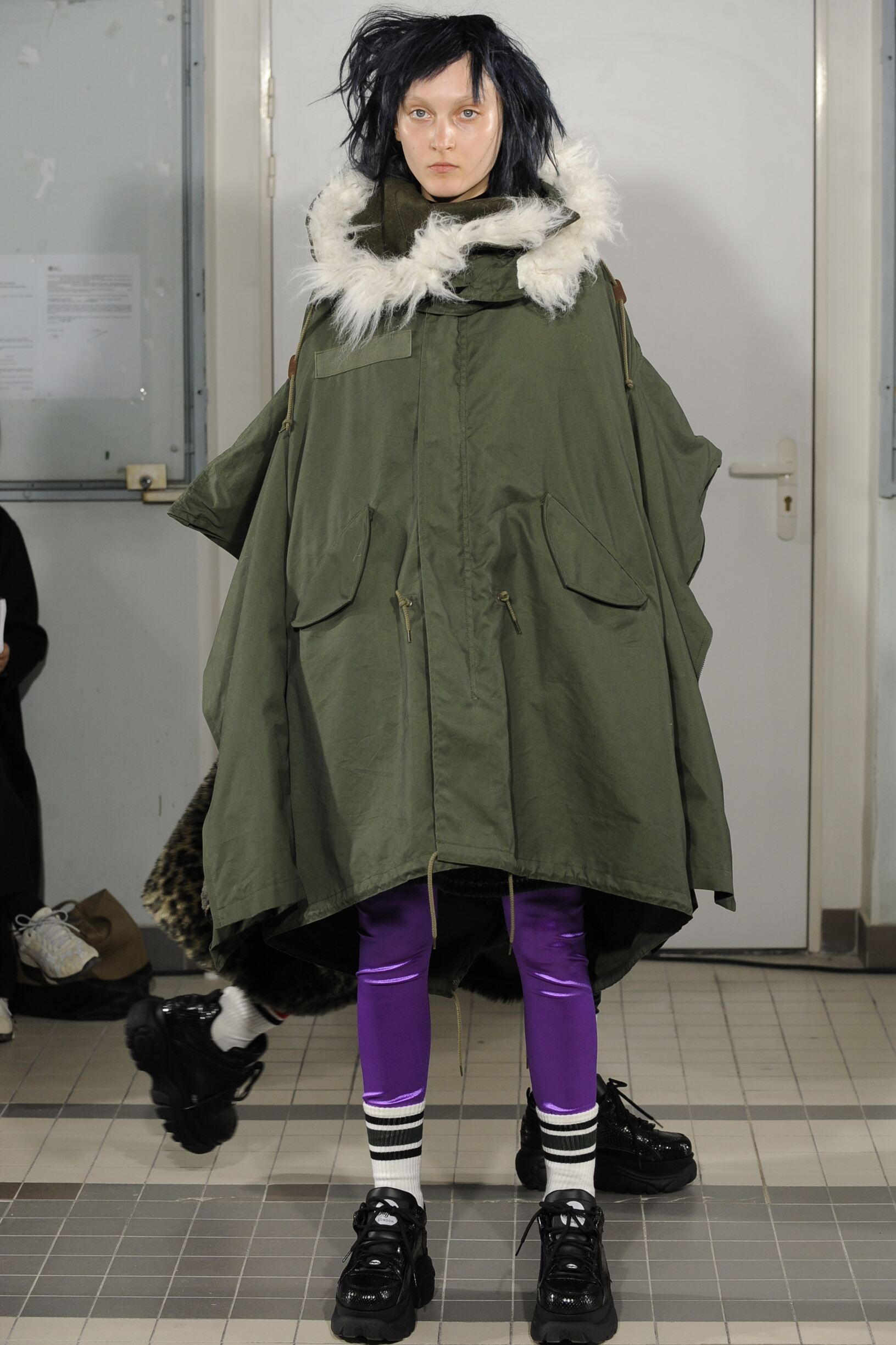 2018 Catwalk Junya Watanabe Woman Fashion Show Winter