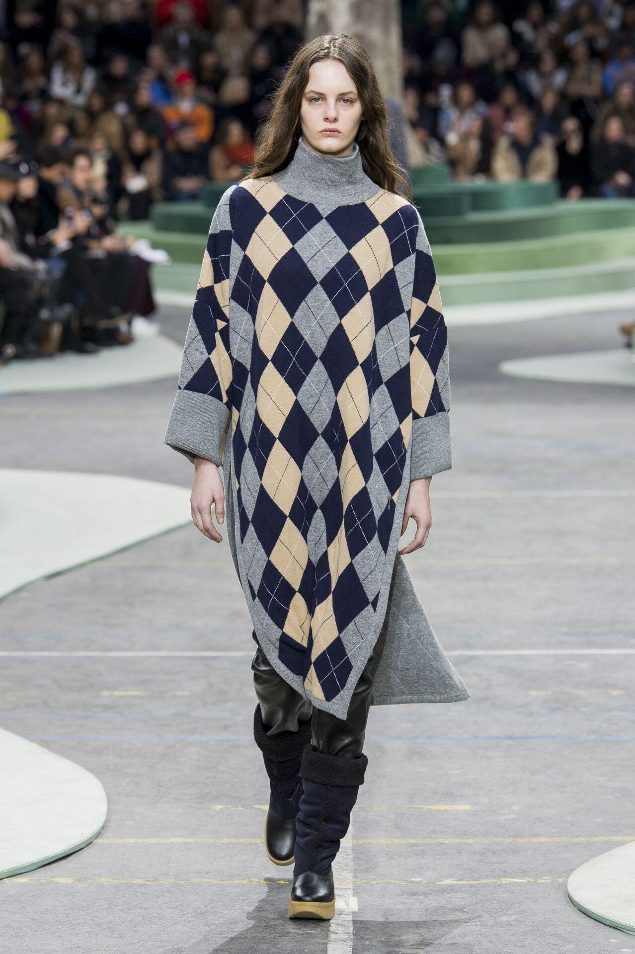 2018 Catwalk Lacoste Woman Fashion Show Winter