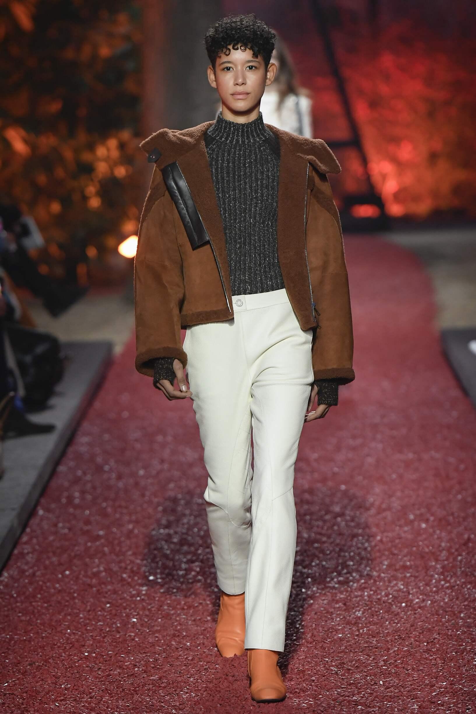 2018 Hermès Woman Winter Runway
