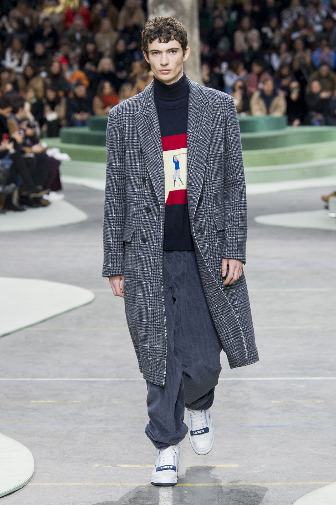 2018 Lacoste Man Winter Runway