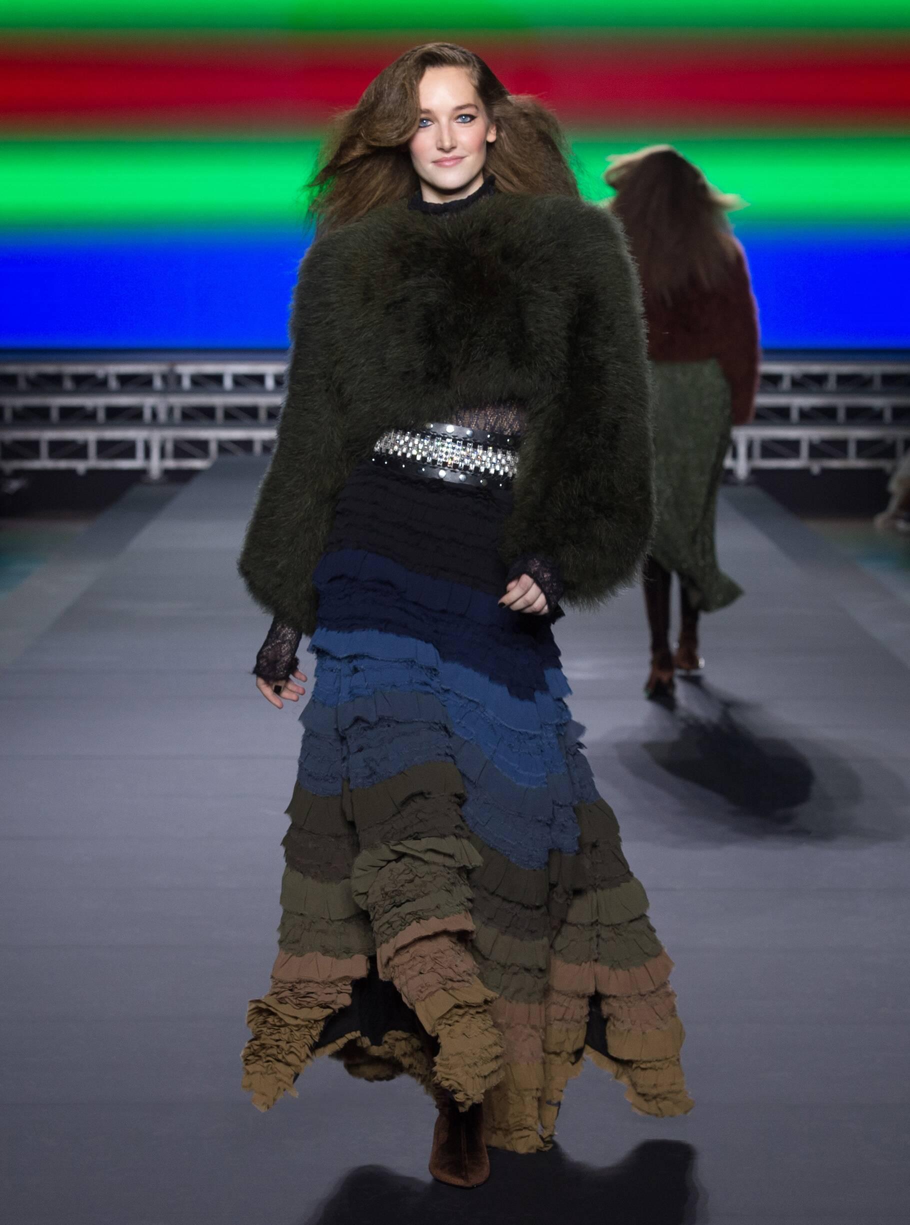 2018 Sonia Rykiel Woman Winter Runway