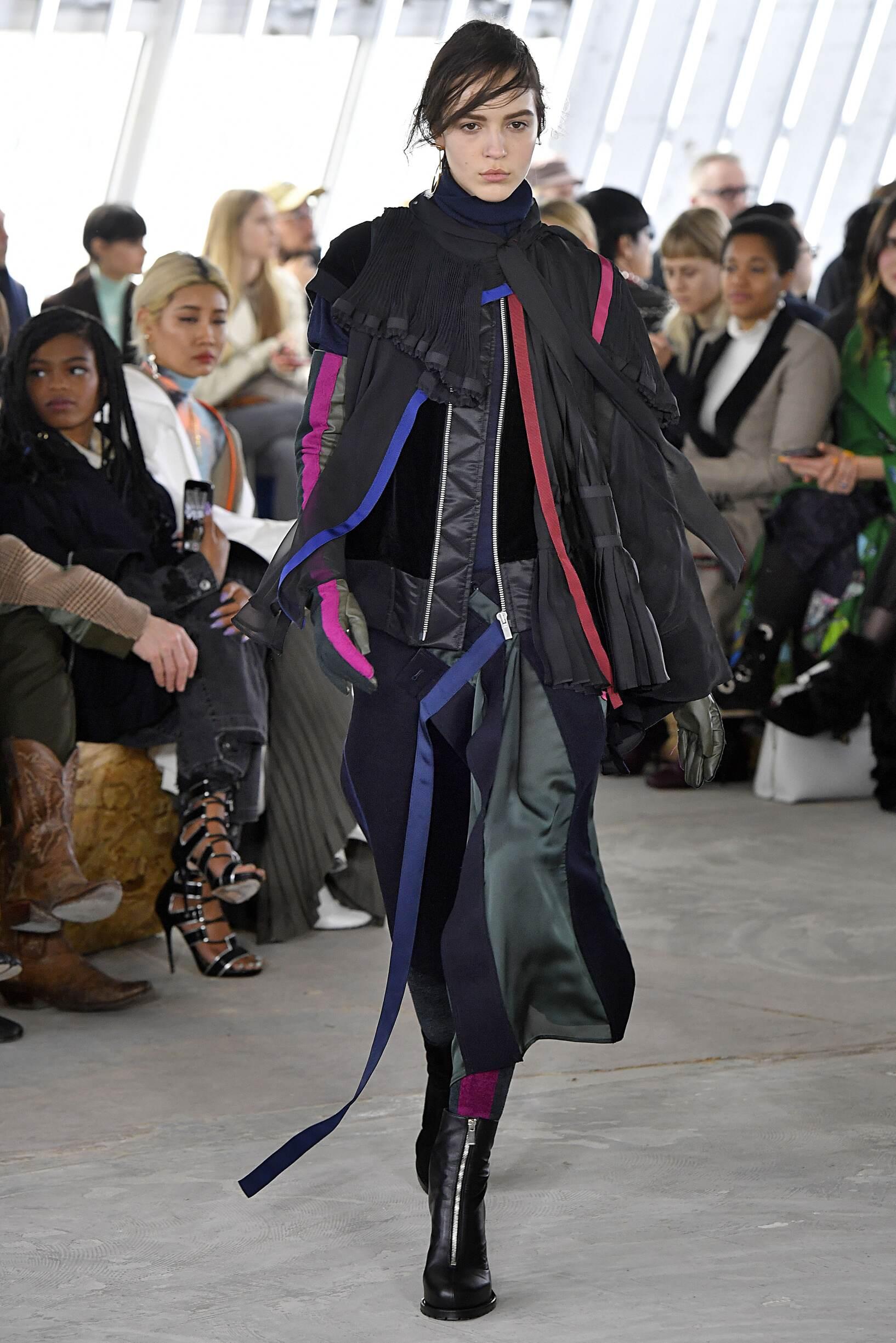 2018 Woman Style Sacai