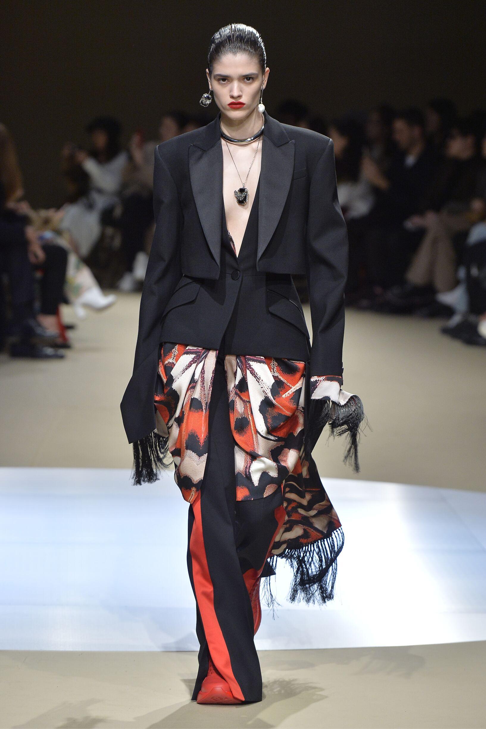 Alexander McQueen Woman Style 2018