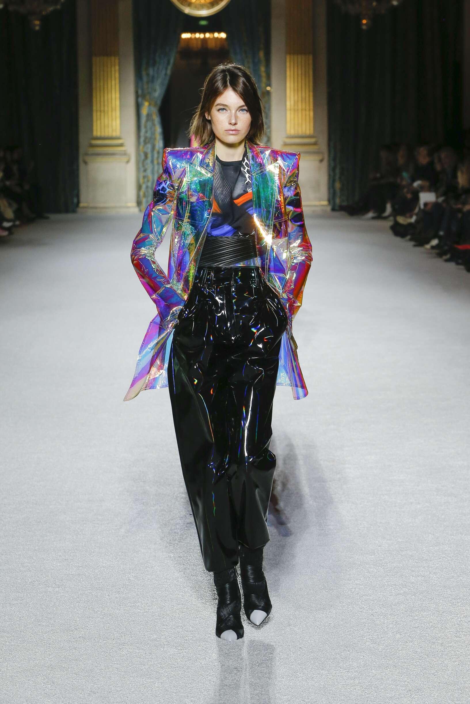 Balmain 2018 Paris Trends Womenswear