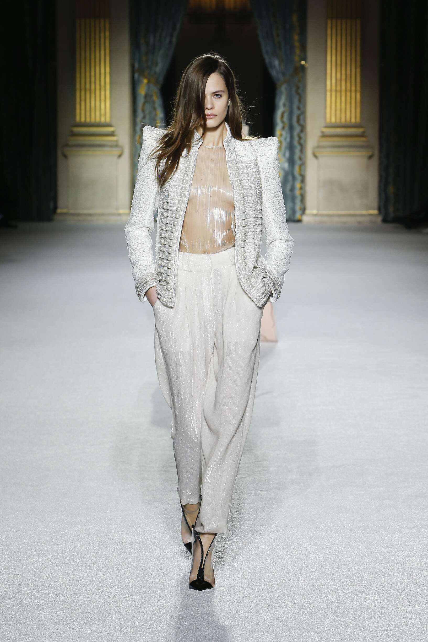 Balmain Paris Fashion Week Womenswear Trends