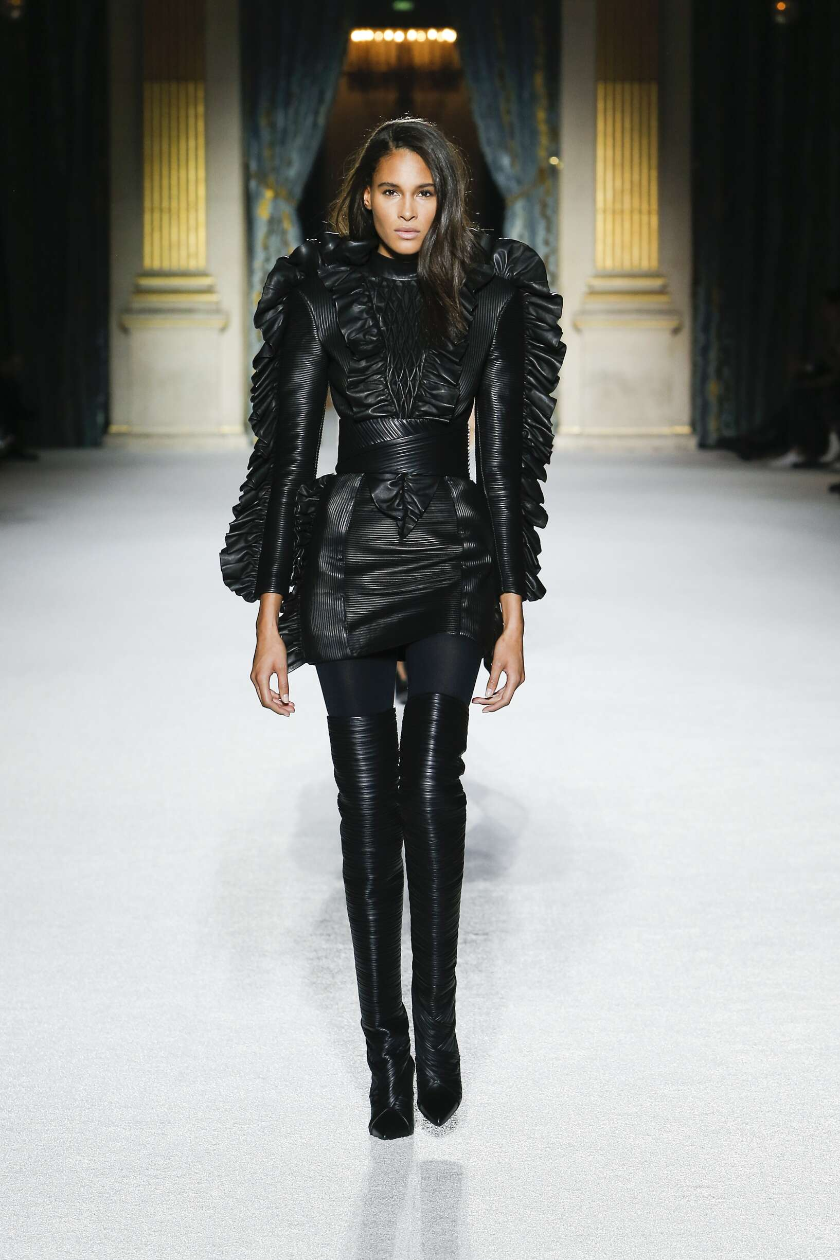 Balmain Winter 2018 Catwalk