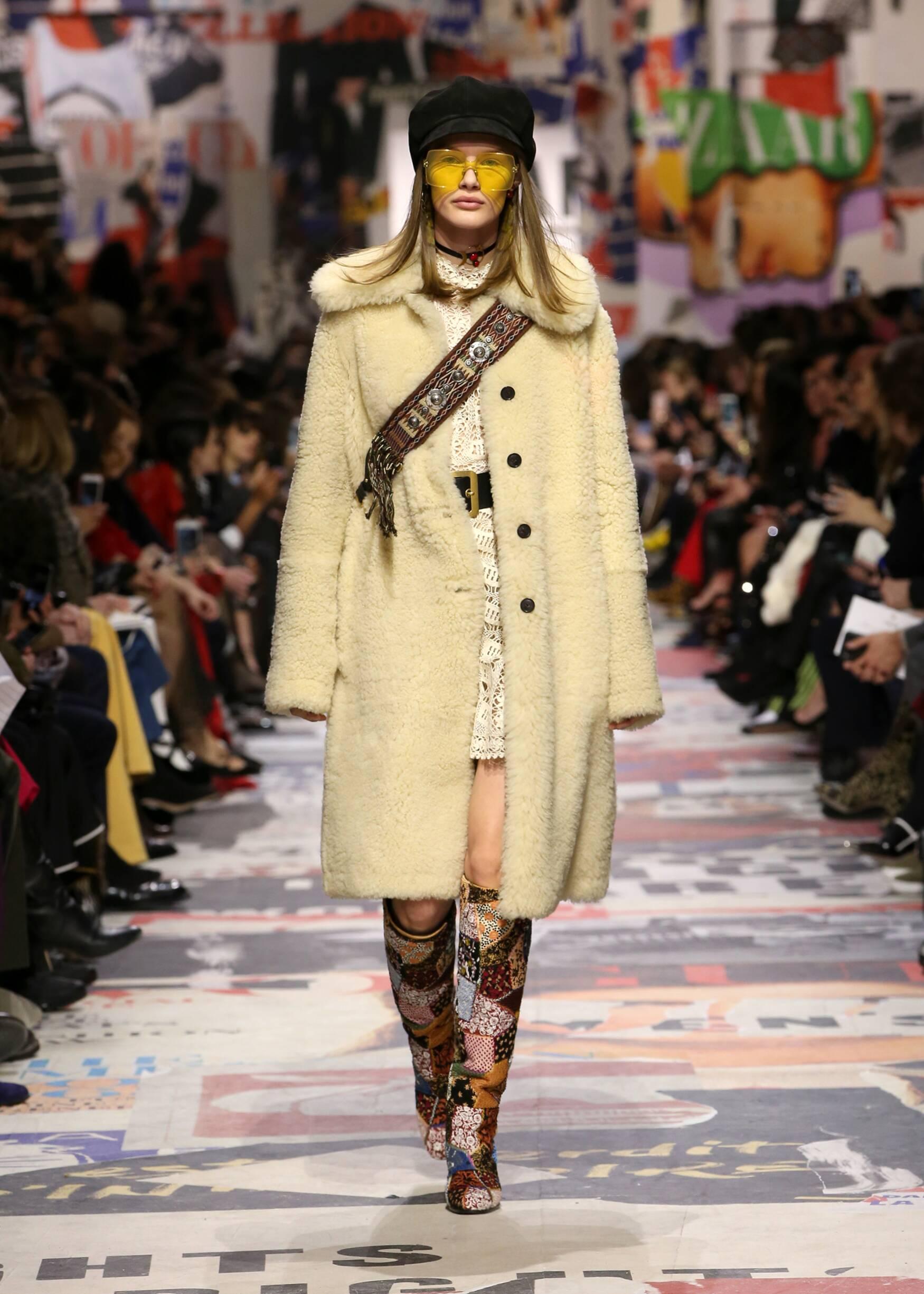 Catwalk Dior Winter 2018