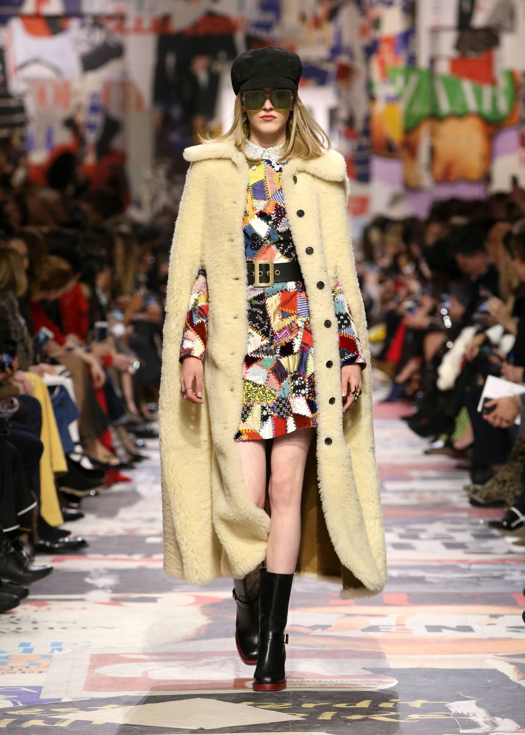 Catwalk Dior Woman Fashion Show Winter 2018
