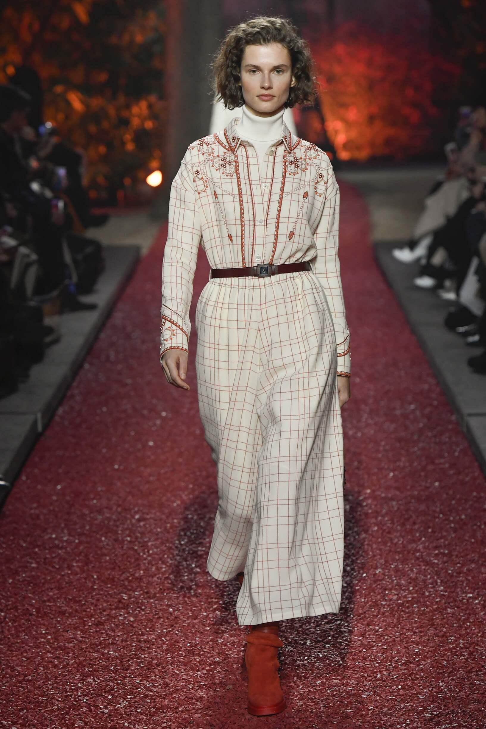 Catwalk Hermès Winter 2018
