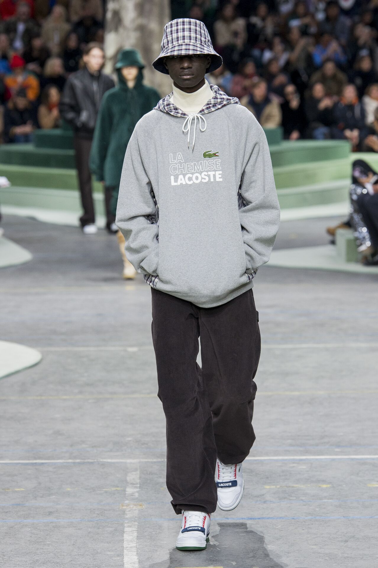 Catwalk Lacoste Man Fashion Show Winter 2018