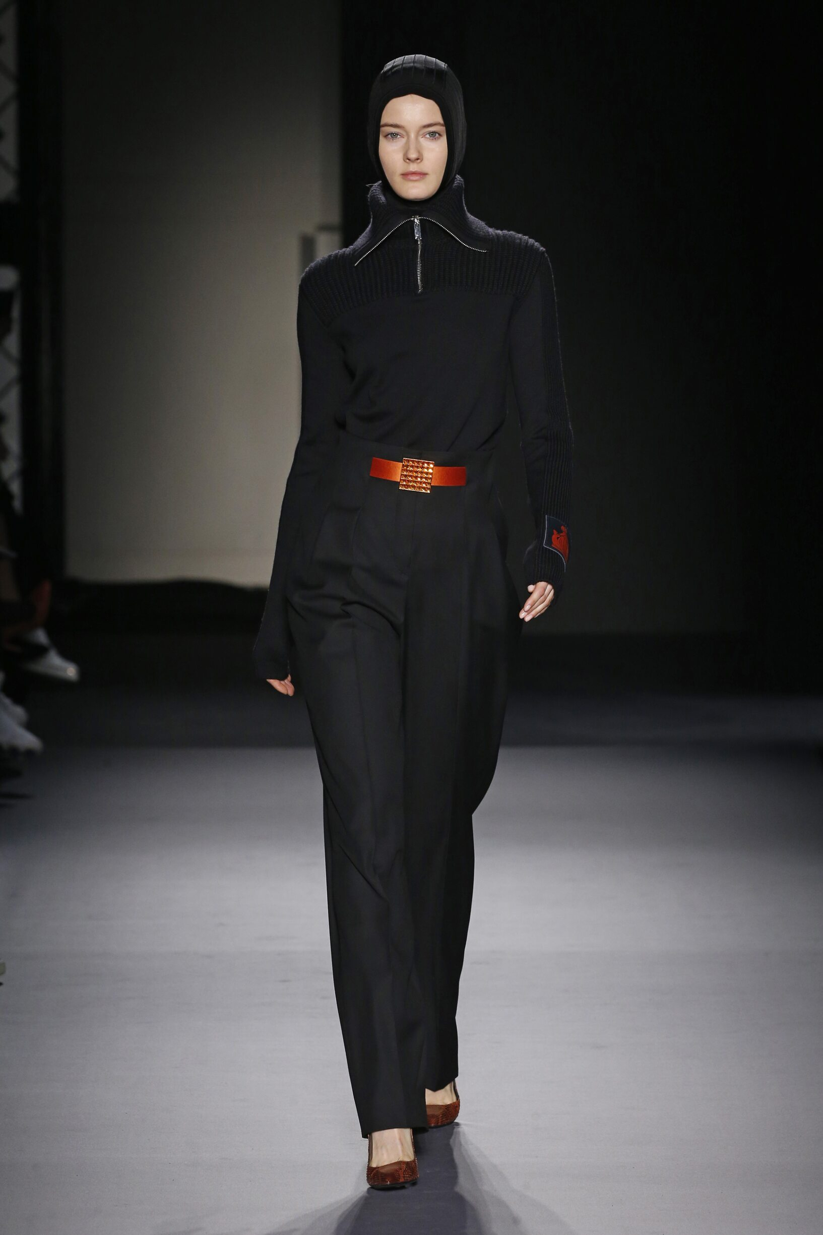 Catwalk Lanvin Woman Fashion Show Winter 2018