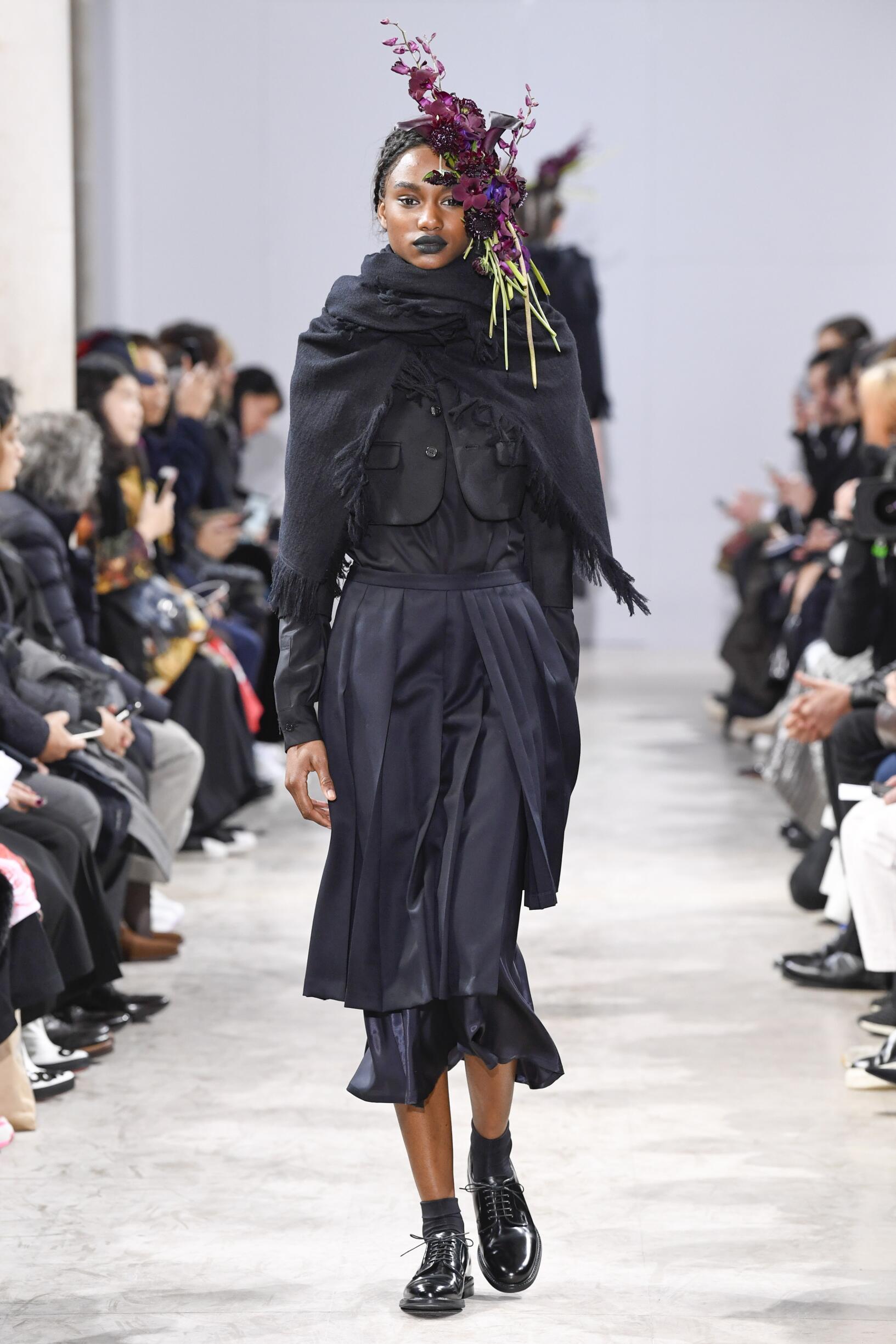 Catwalk Noir Kei Ninomiya Winter 2018