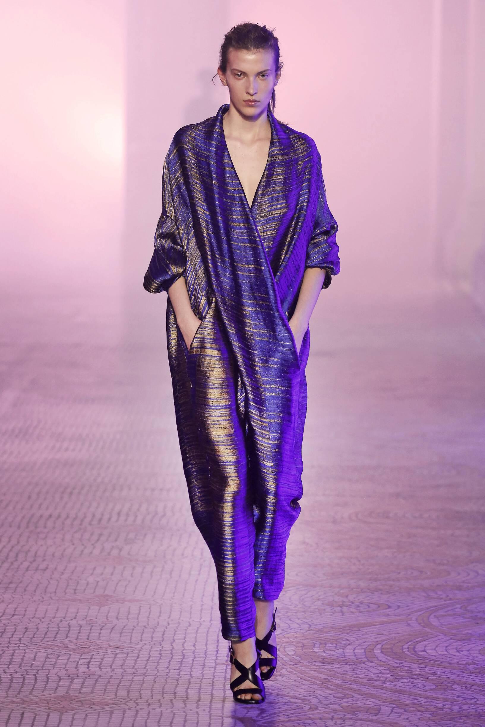 Catwalk Poiret Woman Fashion Show Winter 2018