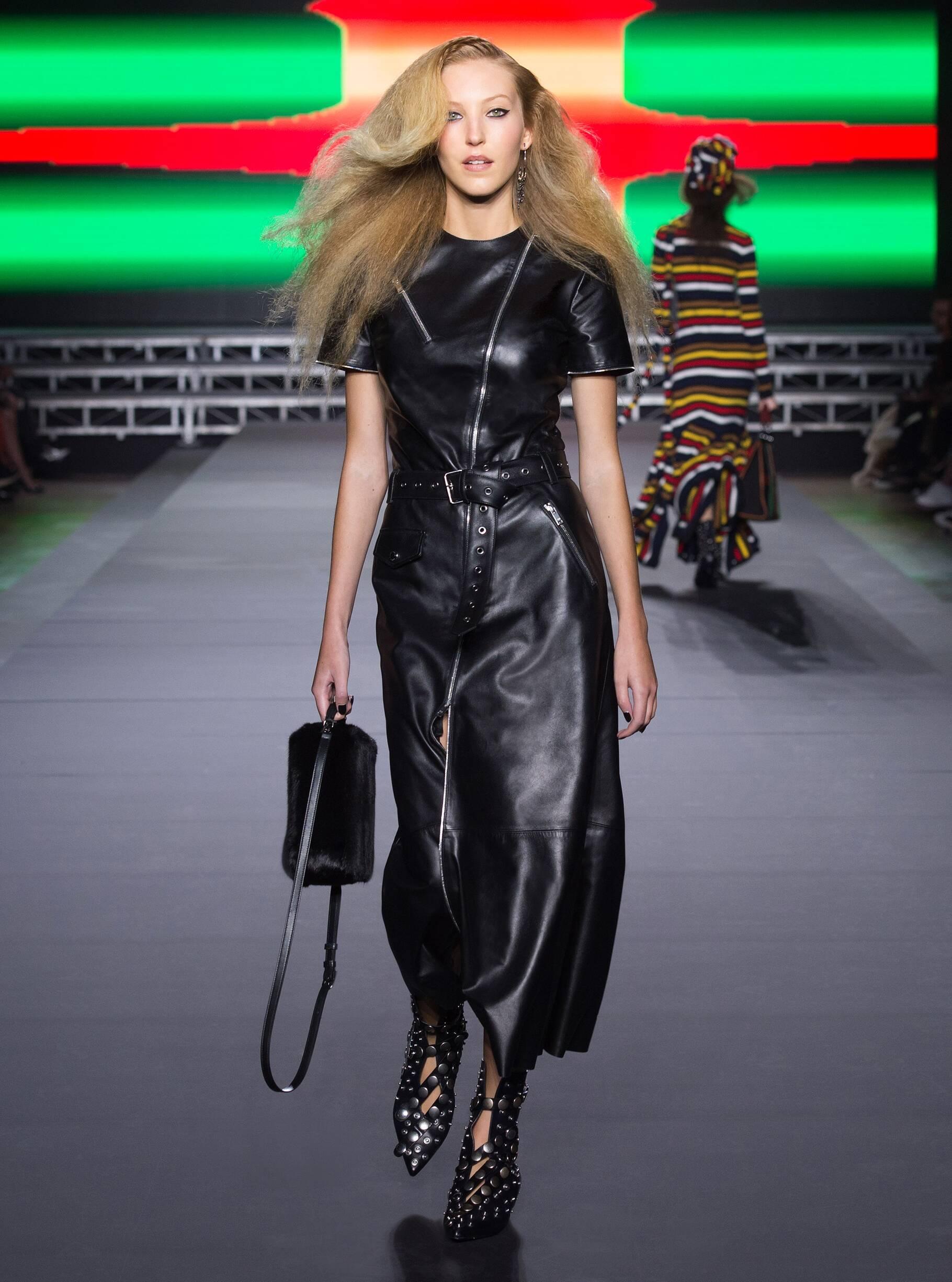 Catwalk Sonia Rykiel Woman Fashion Show Winter 2018