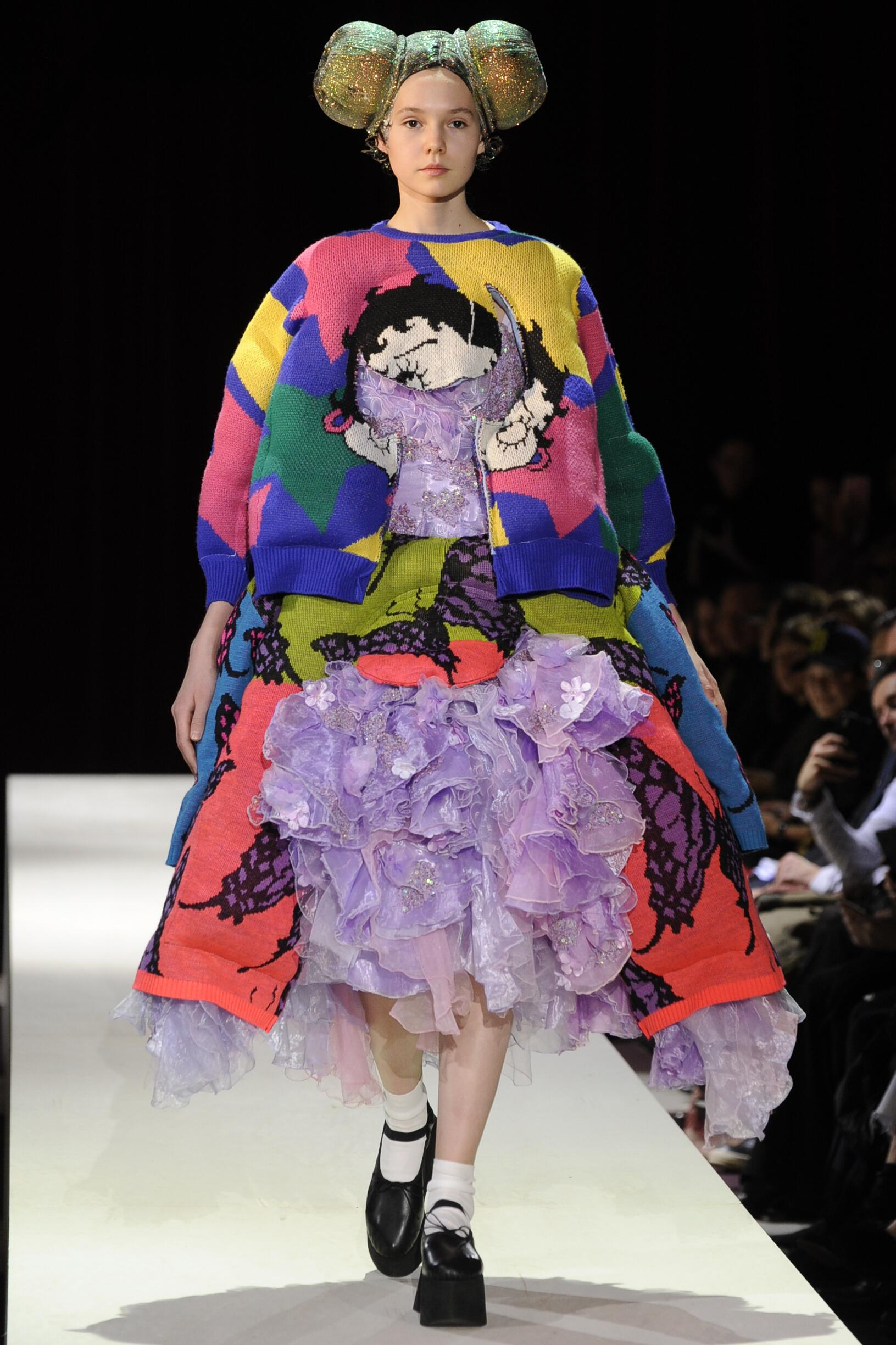Comme des Garçons Fall Winter 2018 Womens Collection Paris Fashion Week