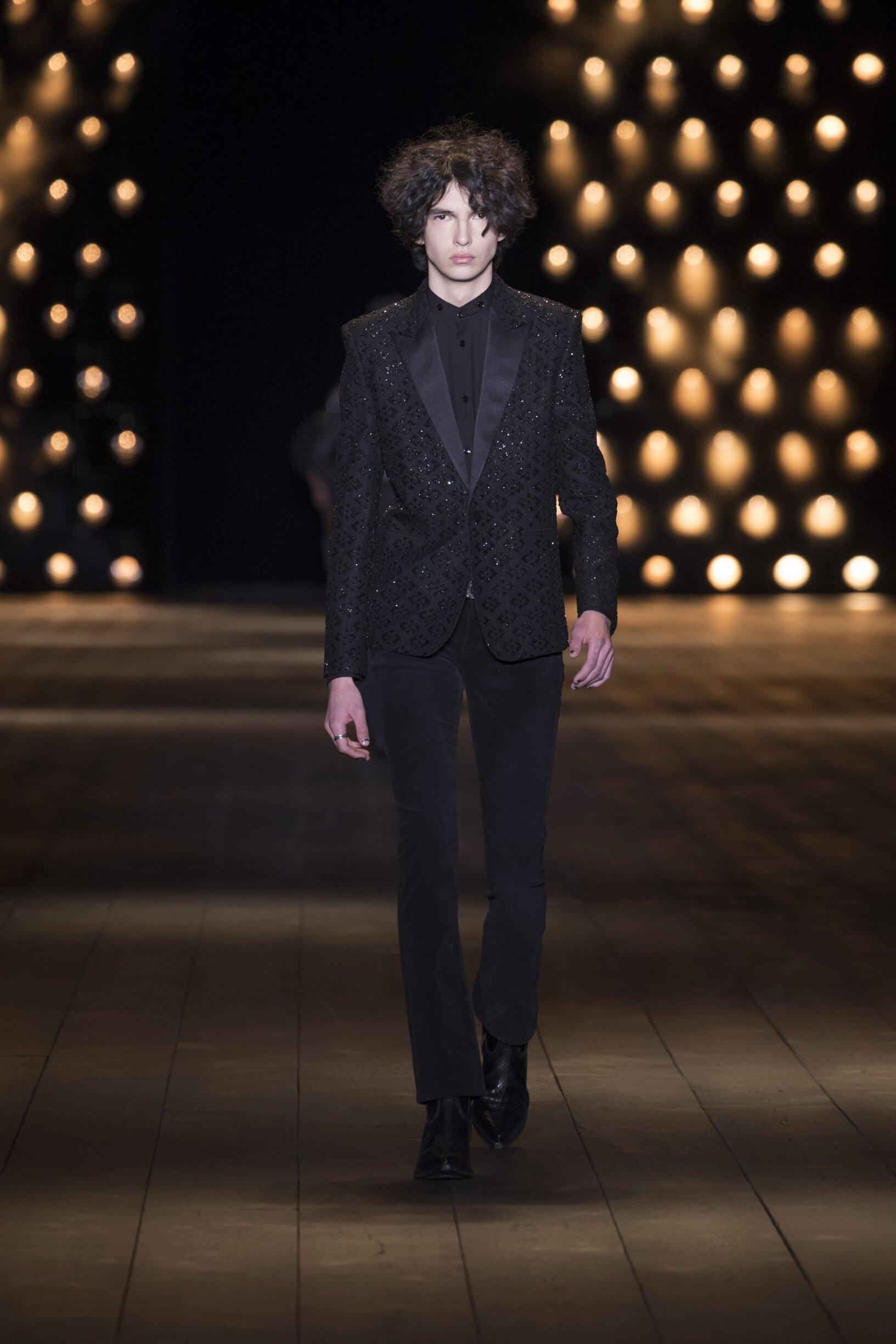 FW 2018-19 Saint Laurent Fashion Show Paris Fashion Week