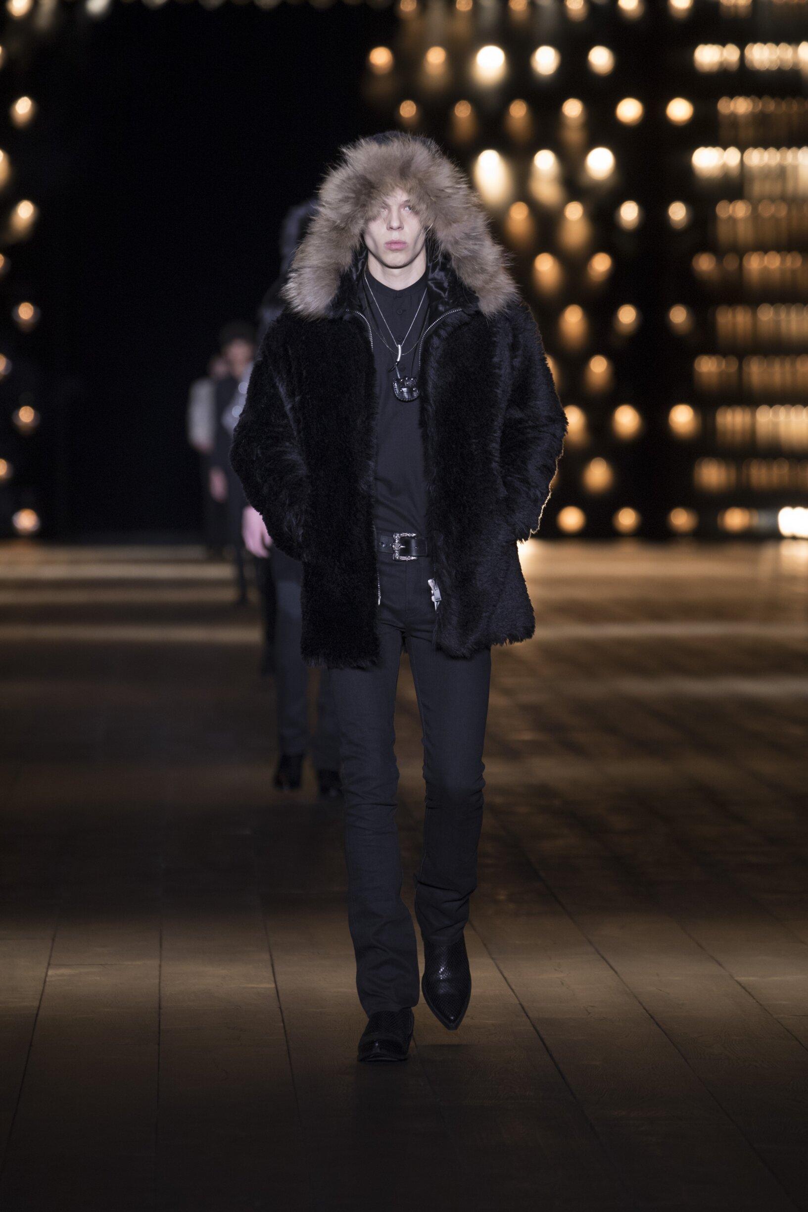 FW 2018-19 Saint Laurent Fashion Show Paris
