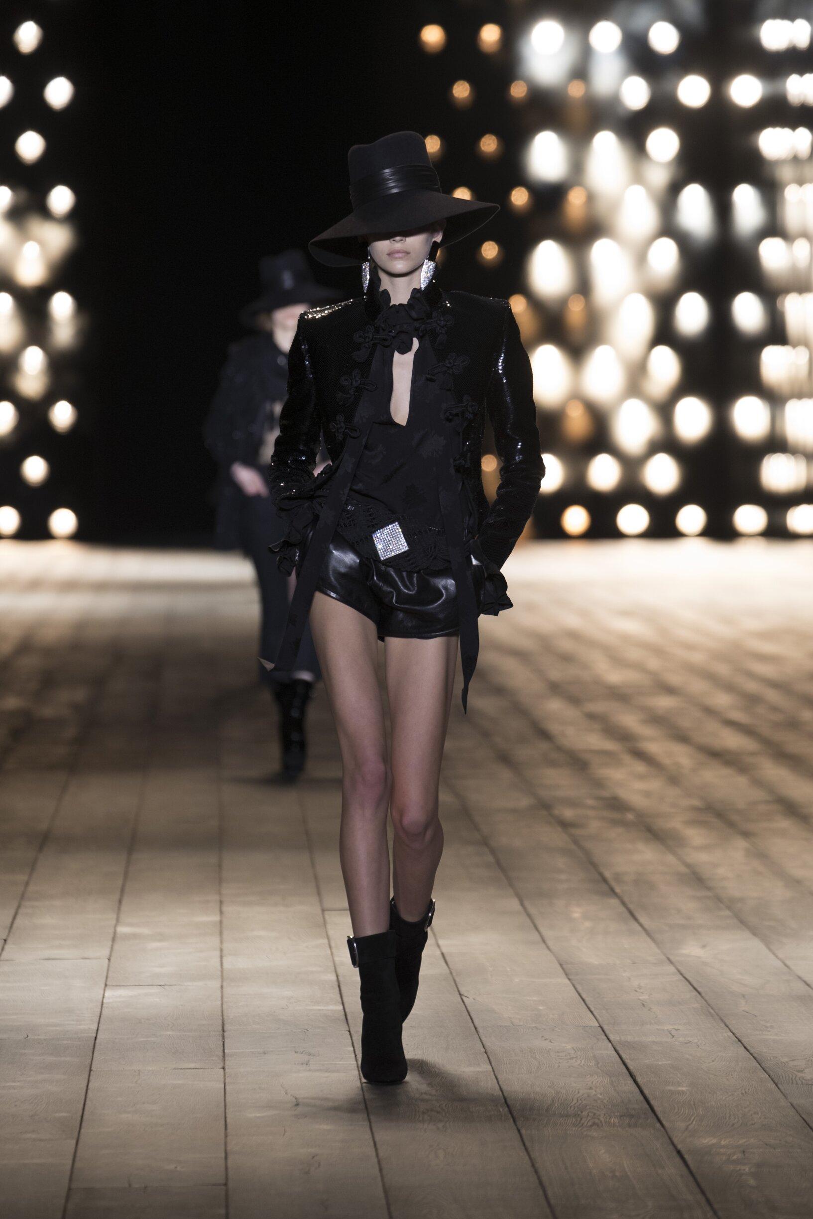FW 2018-19 Saint Laurent Fashion Show