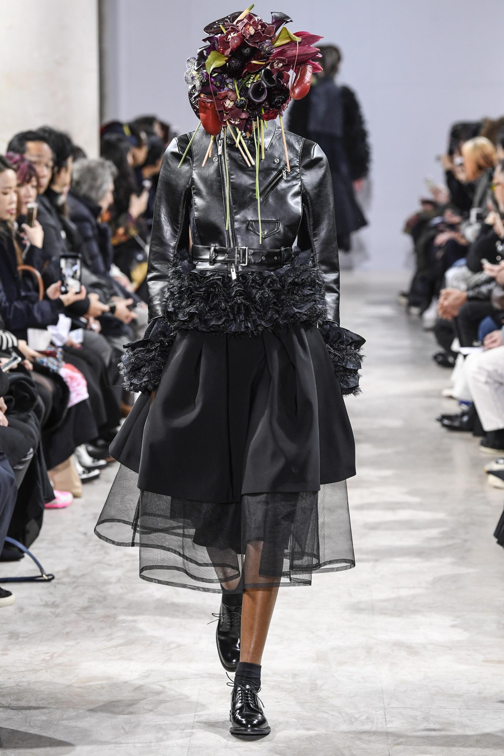 Fall 2018-19 Womenswear Noir Kei Ninomiya