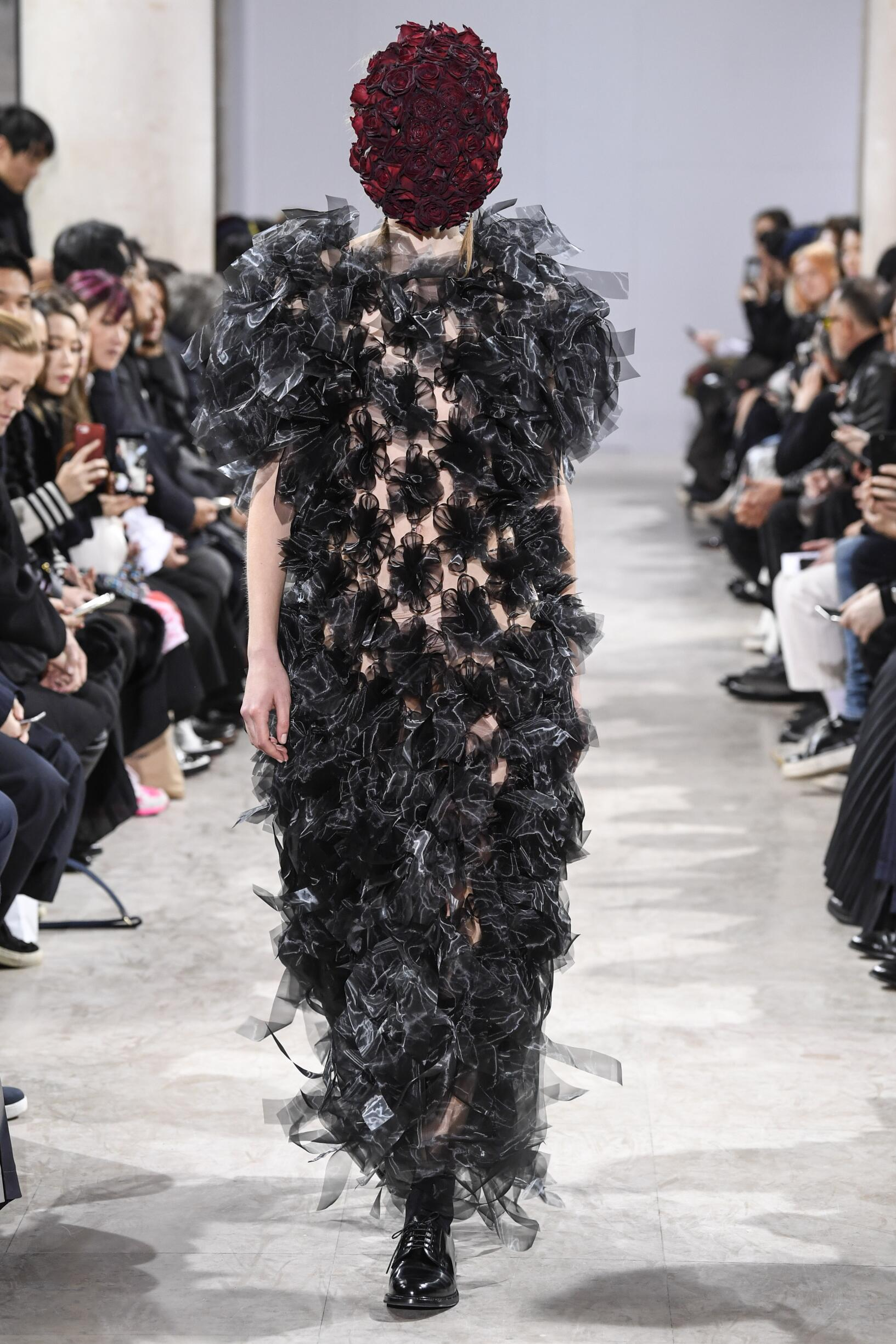 Fall Fashion Woman Trends 2018 Noir Kei Ninomiya