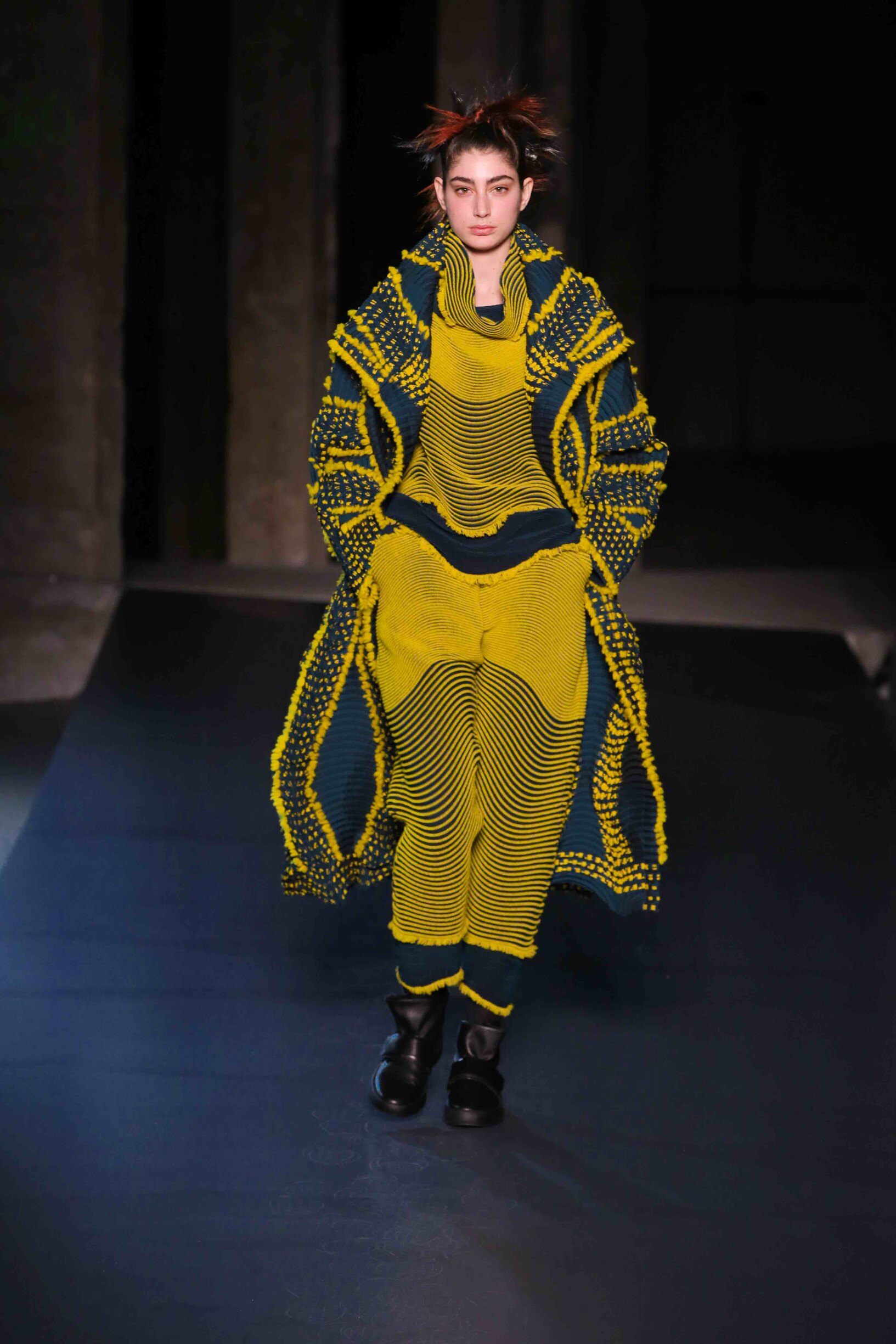 Fall Winter 2018 Woman Paris Issey Miyake Collection