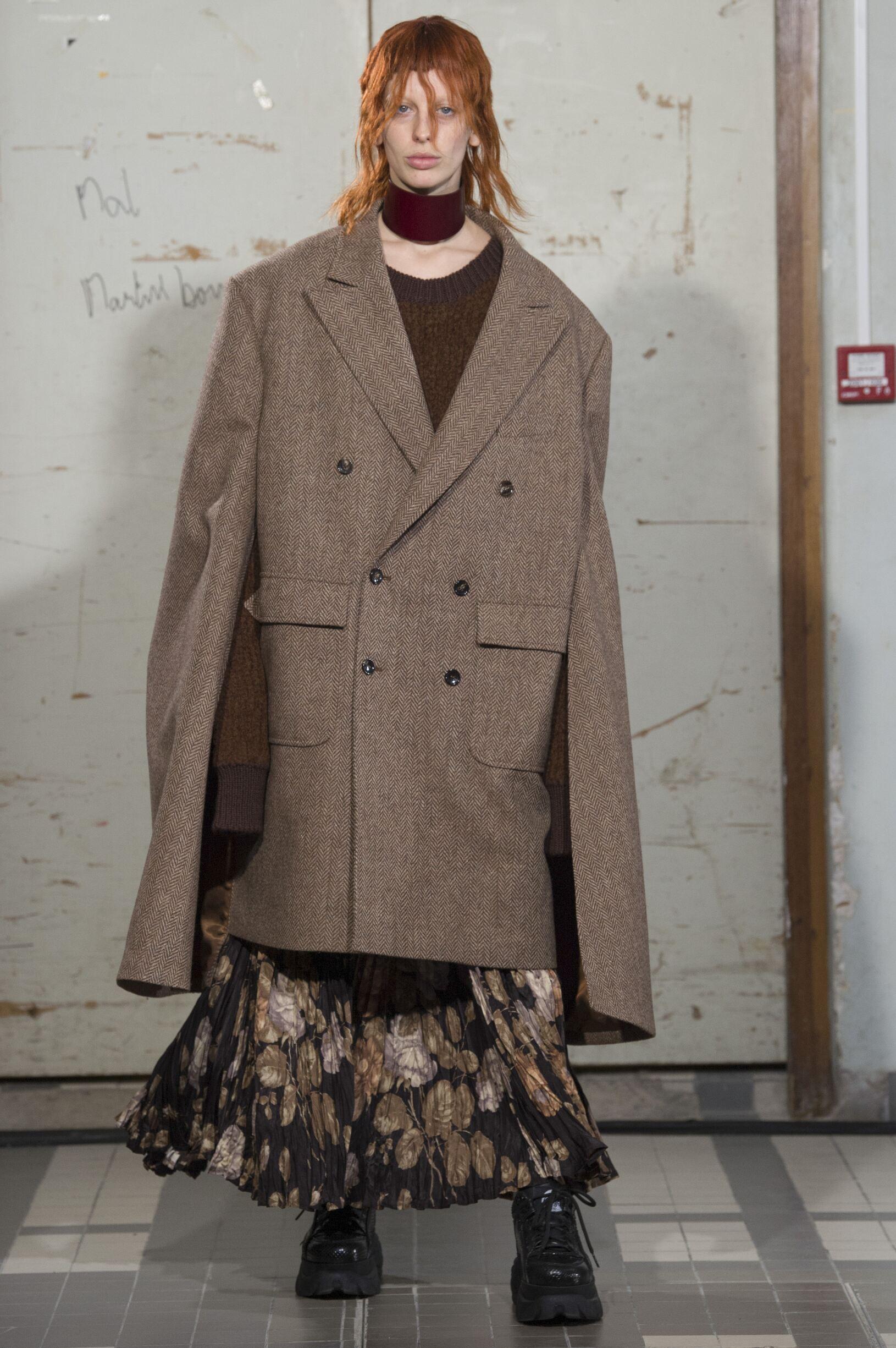 Fashion 2018 19 Woman Colors Junya Watanabe