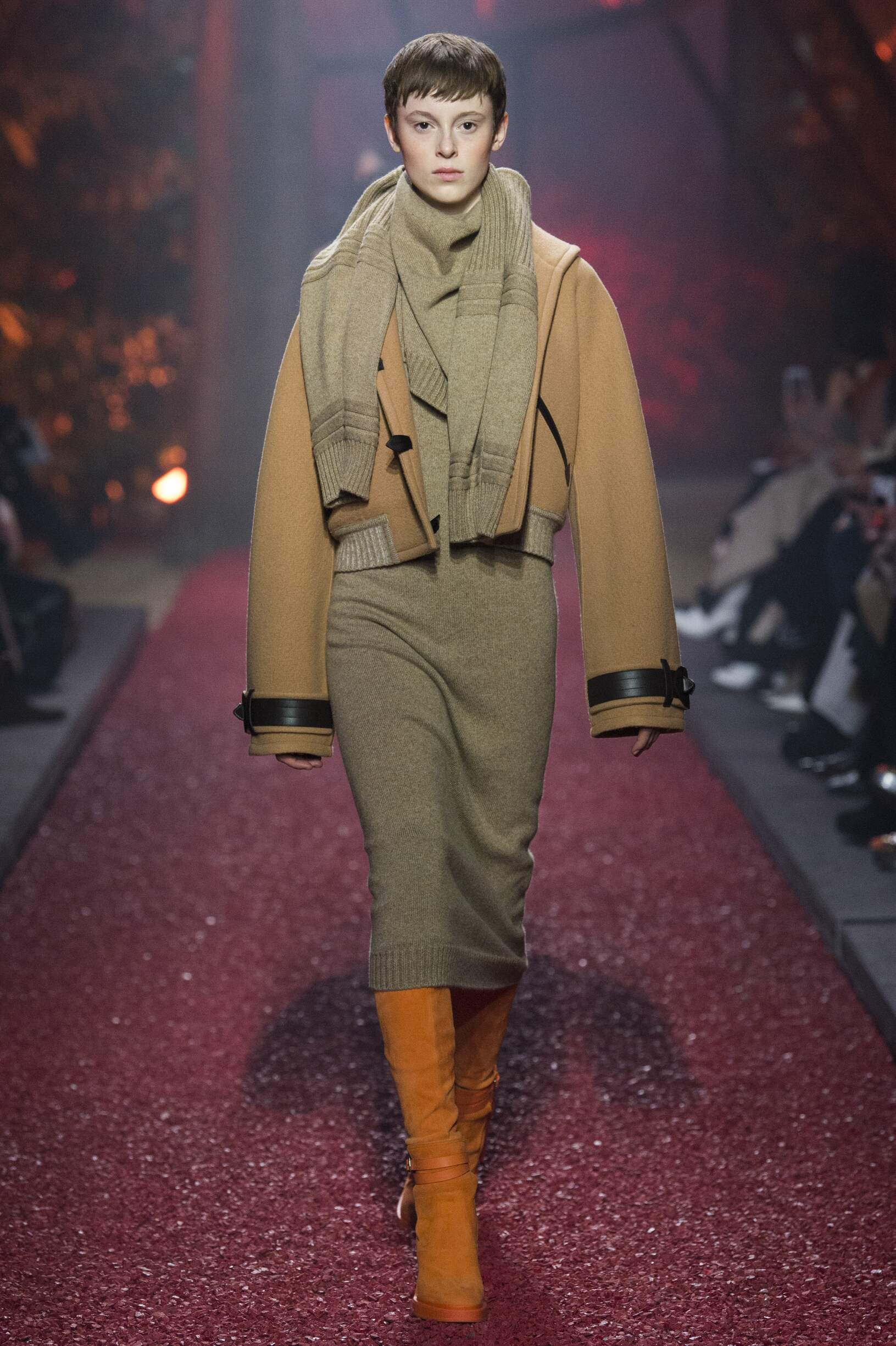 Fashion 2018-2019 Catwalk Hermès Winter