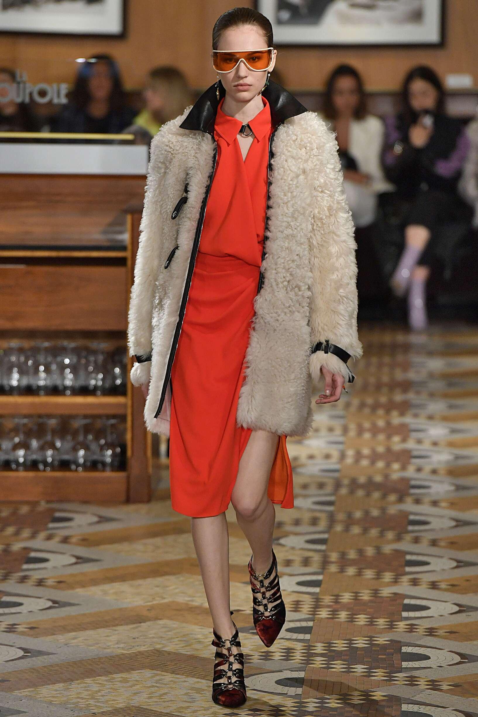 Fashion Model Altuzarra Catwalk