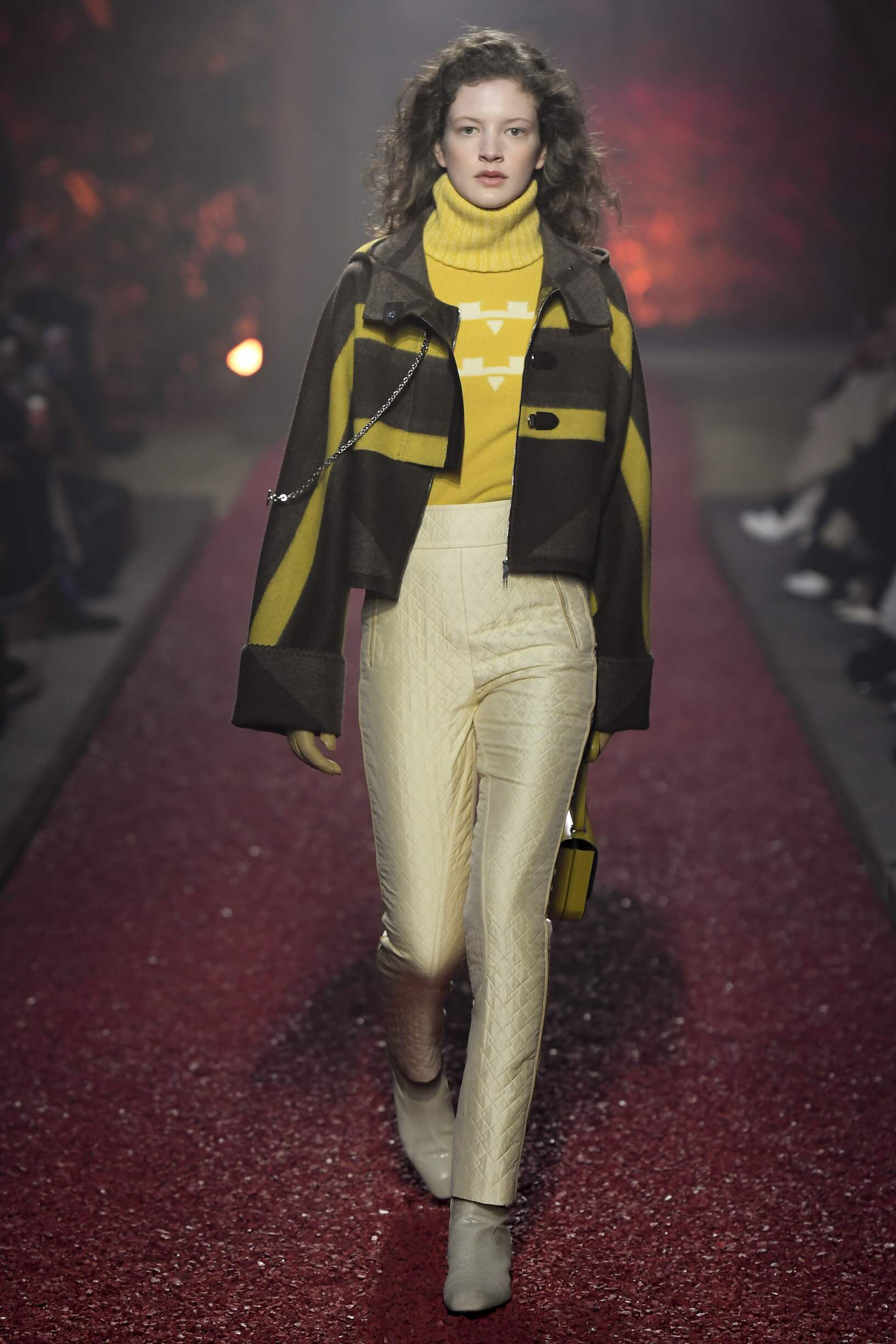 Fashion Model Hermès Catwalk