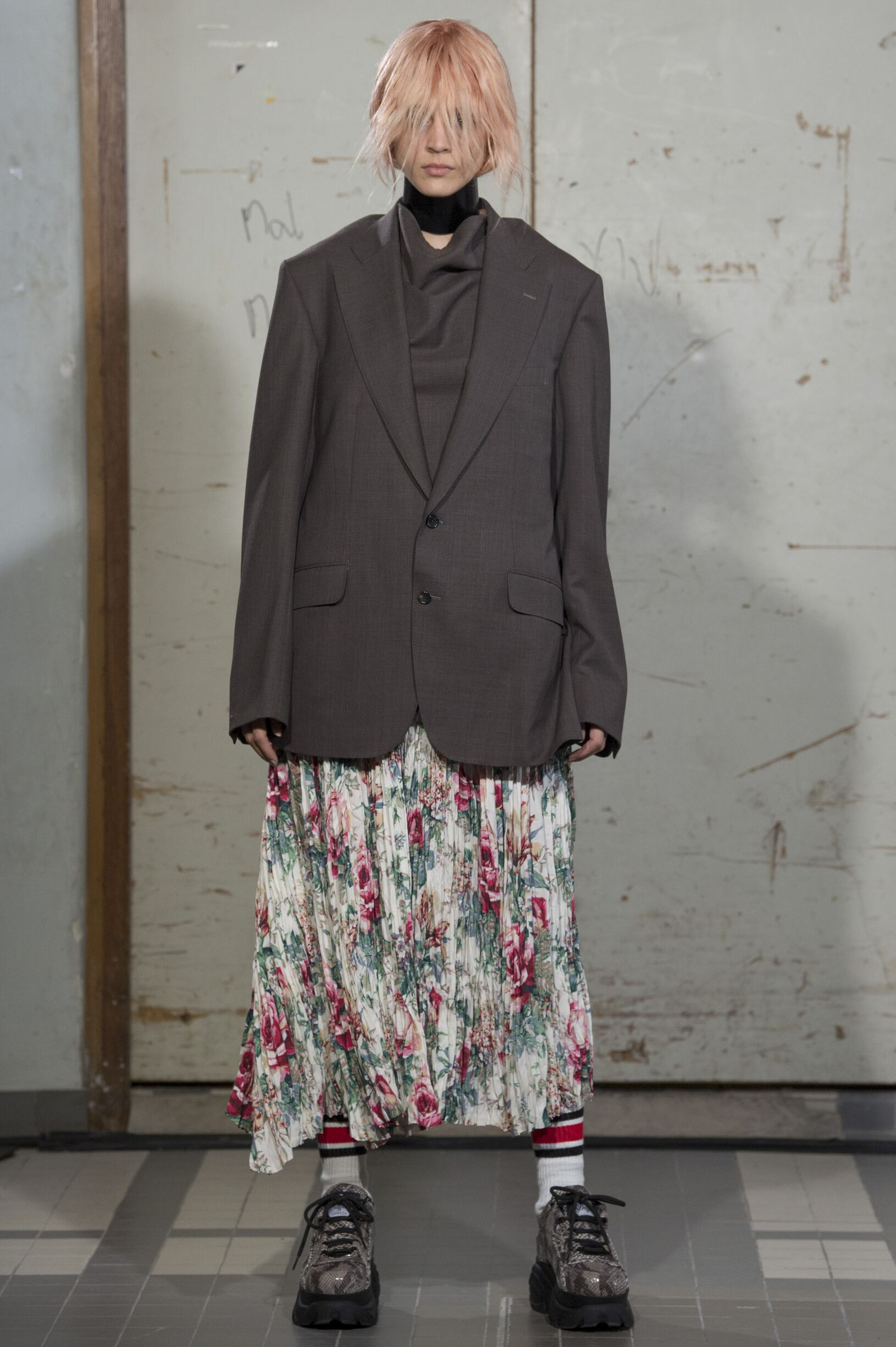 Fashion Model Junya Watanabe Catwalk