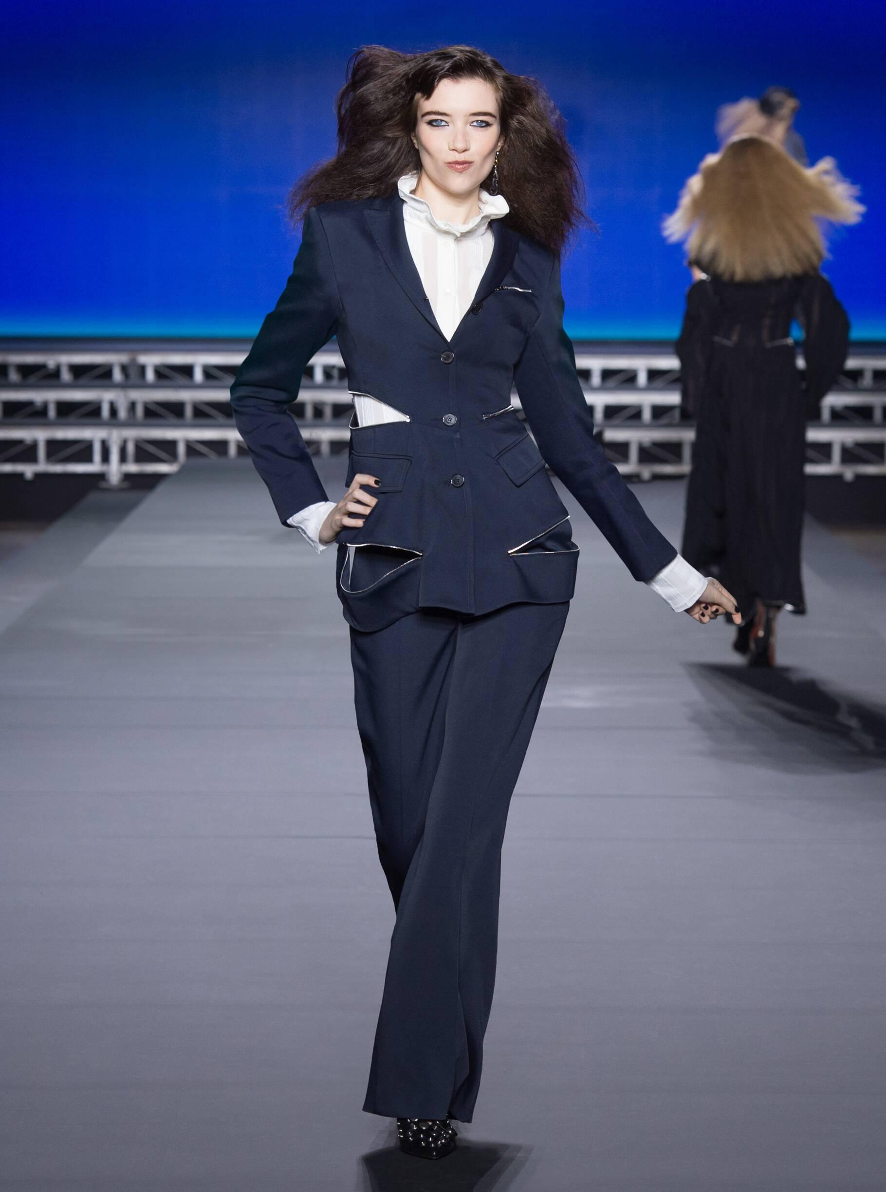 Fashion Model Sonia Rykiel Catwalk