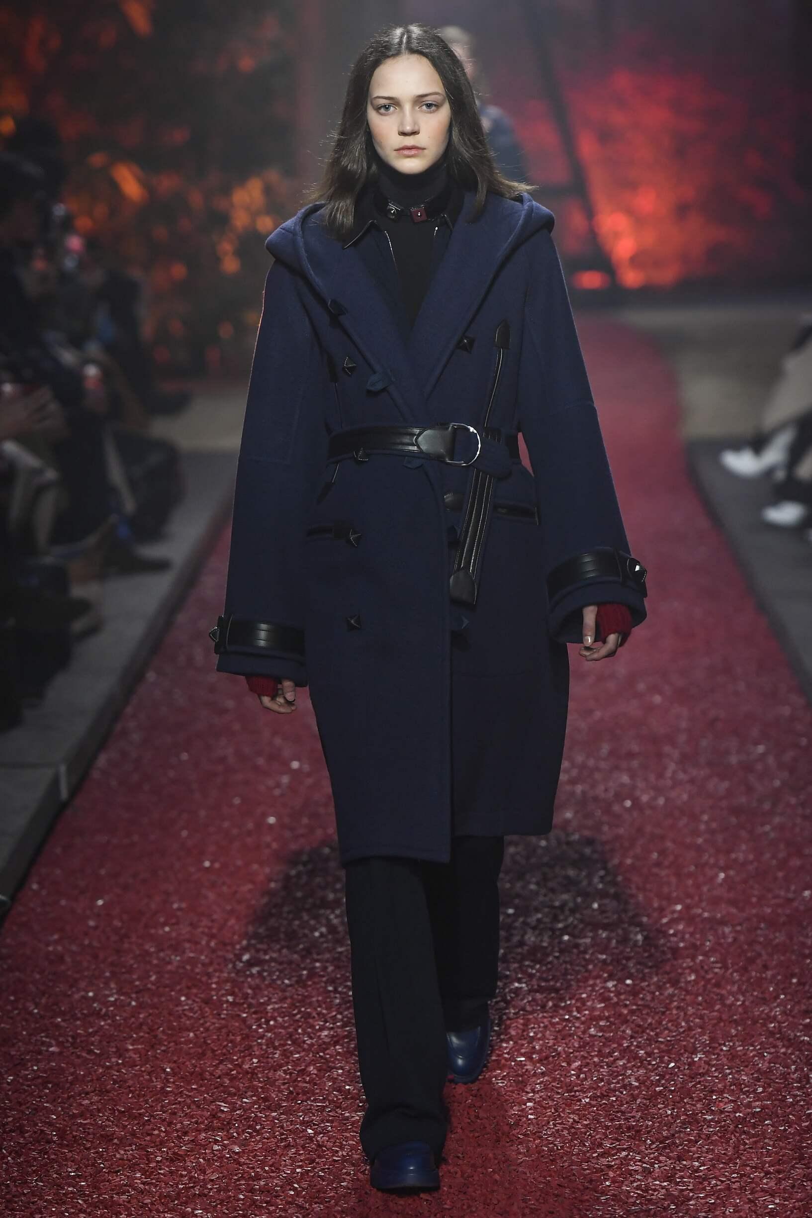 Fashion Woman Model Hermès Catwalk