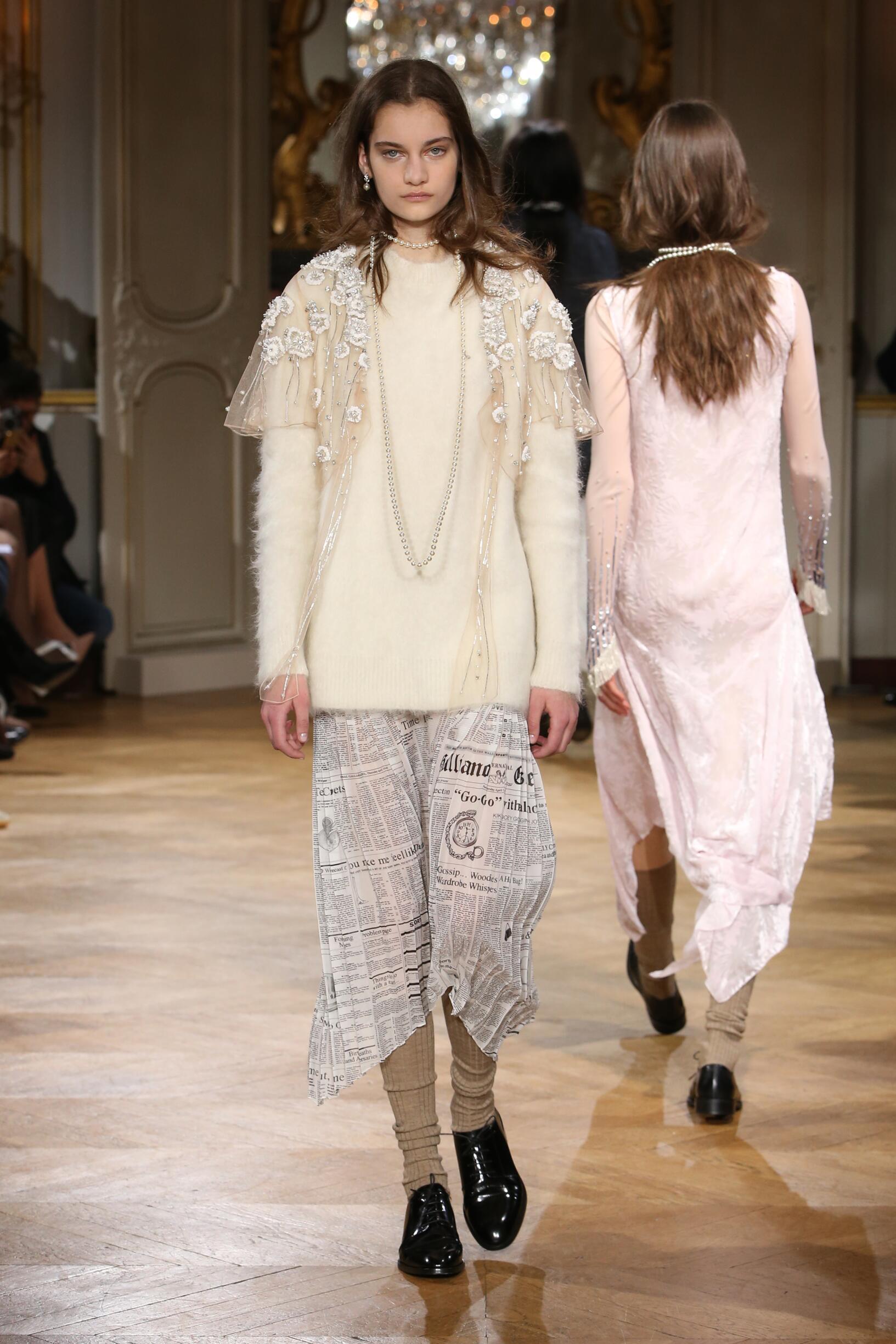 Fashion Woman Model John Galliano Catwalk