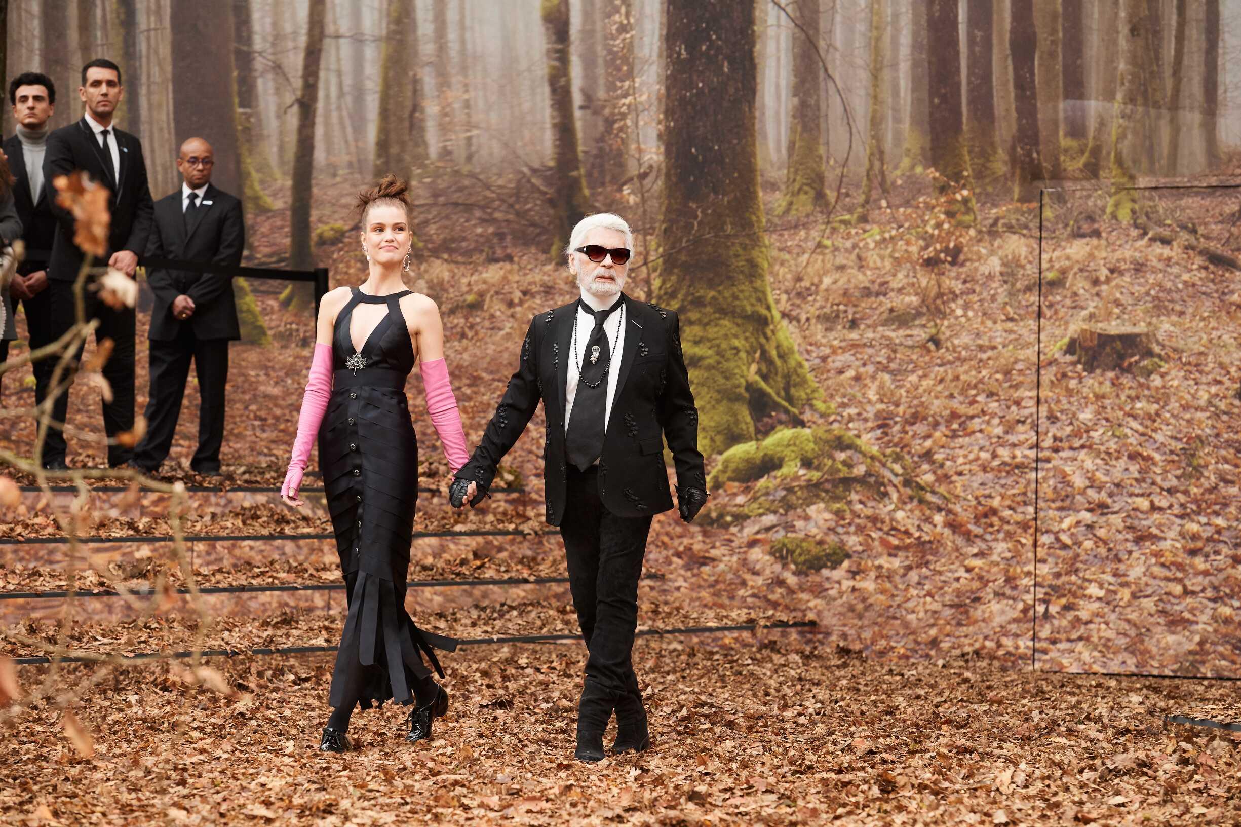 Finale Chanel Karl Lagerfeld