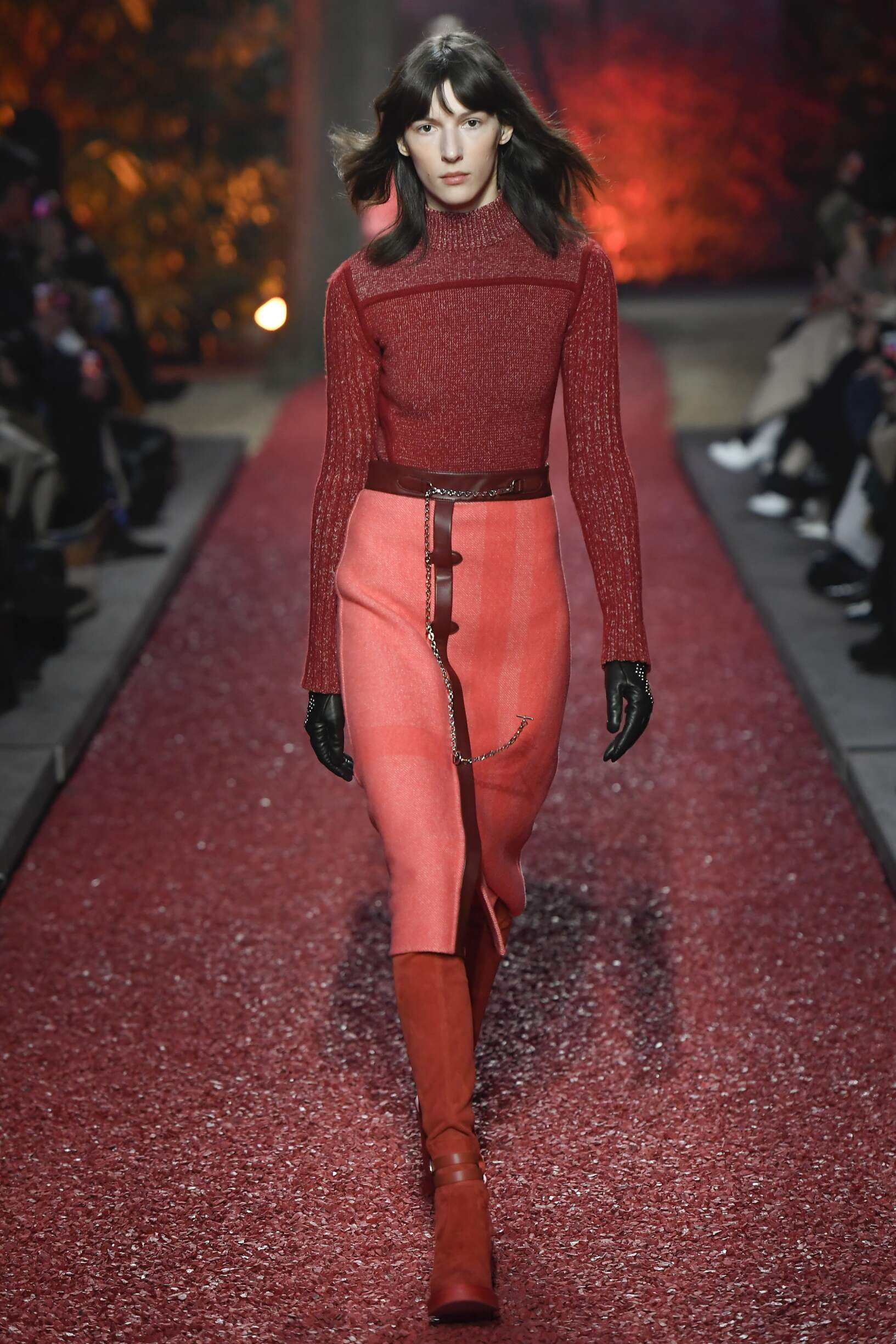 Hermès Winter 2018 Woman Catwalk