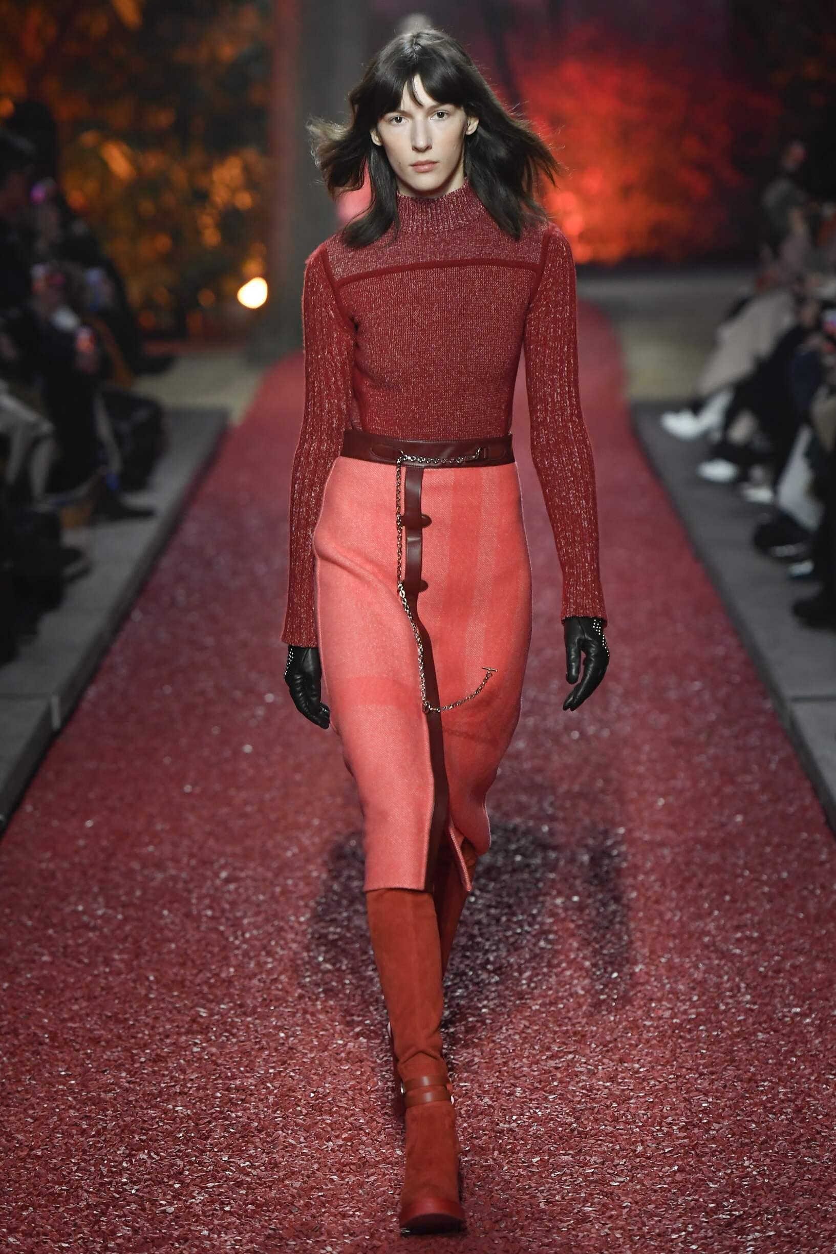 Hermès Winter 2018 Woman Catwalk
